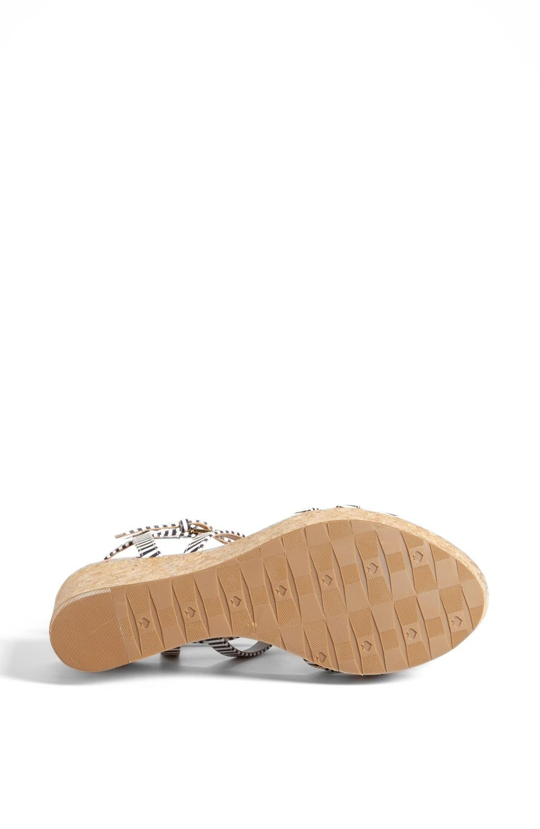 Alternate Image 4  - kate spade new york 'tropez' wedge platform sandal