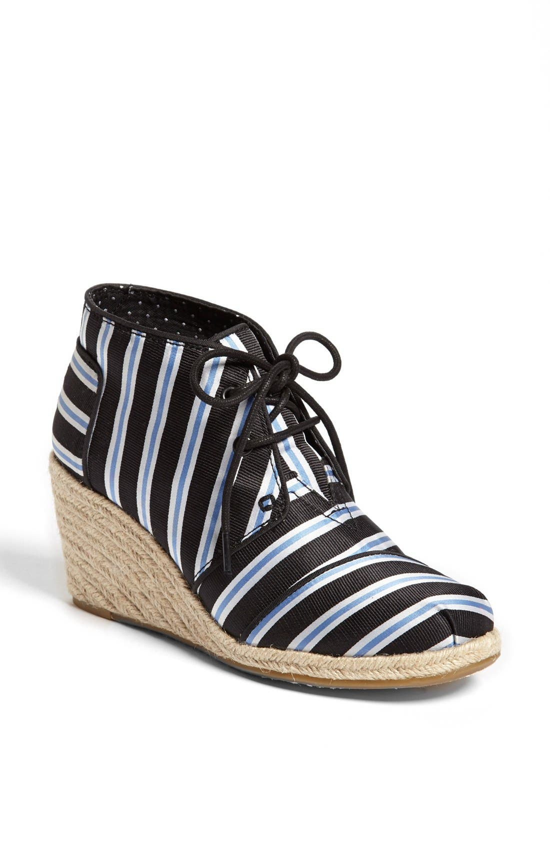 Main Image - TOMS 'Tabitha Simmons' Wedge Bootie (Women)