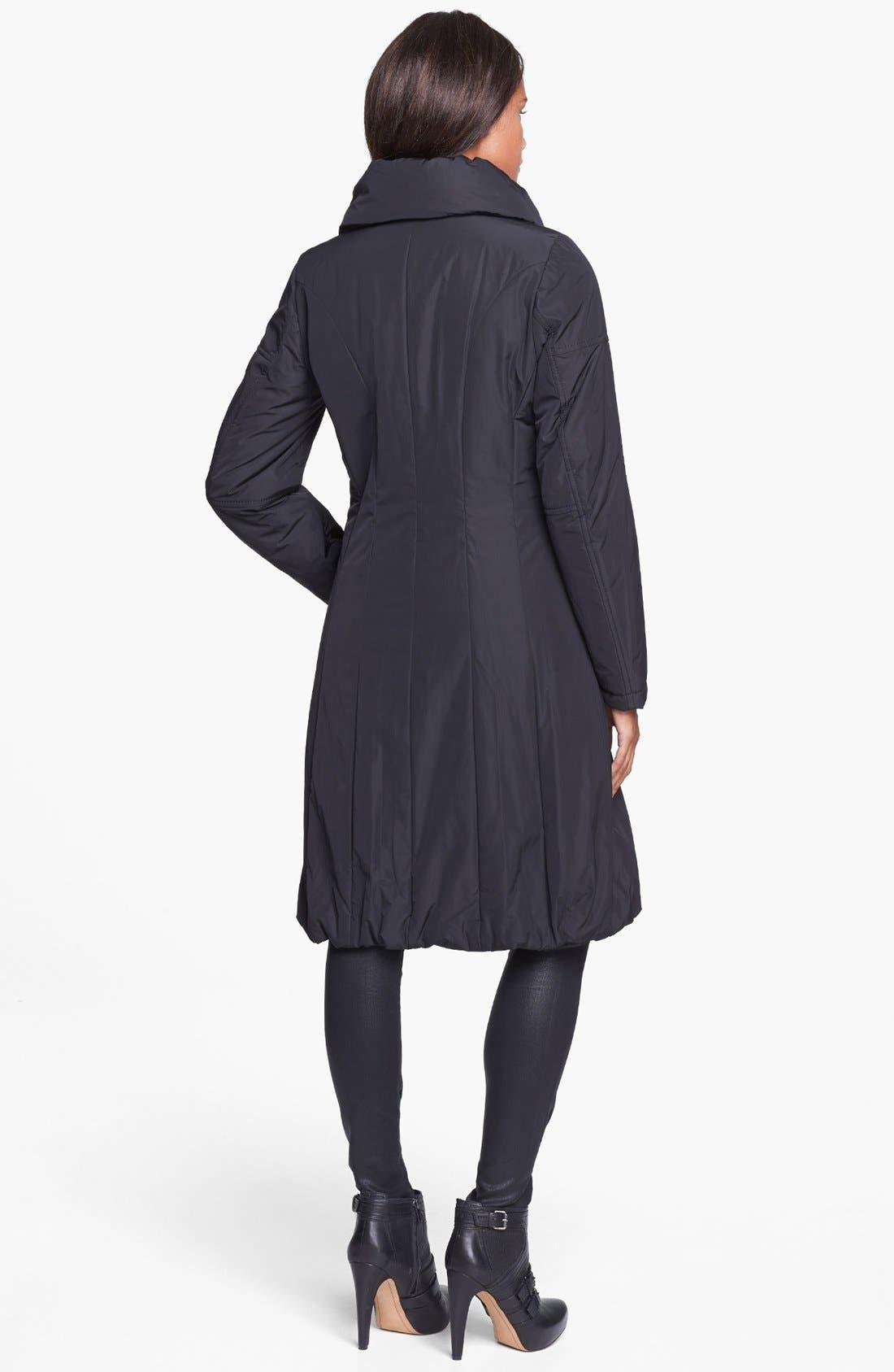 Alternate Image 2  - Creenstone Bubble Hem Thermal Insulated Raincoat