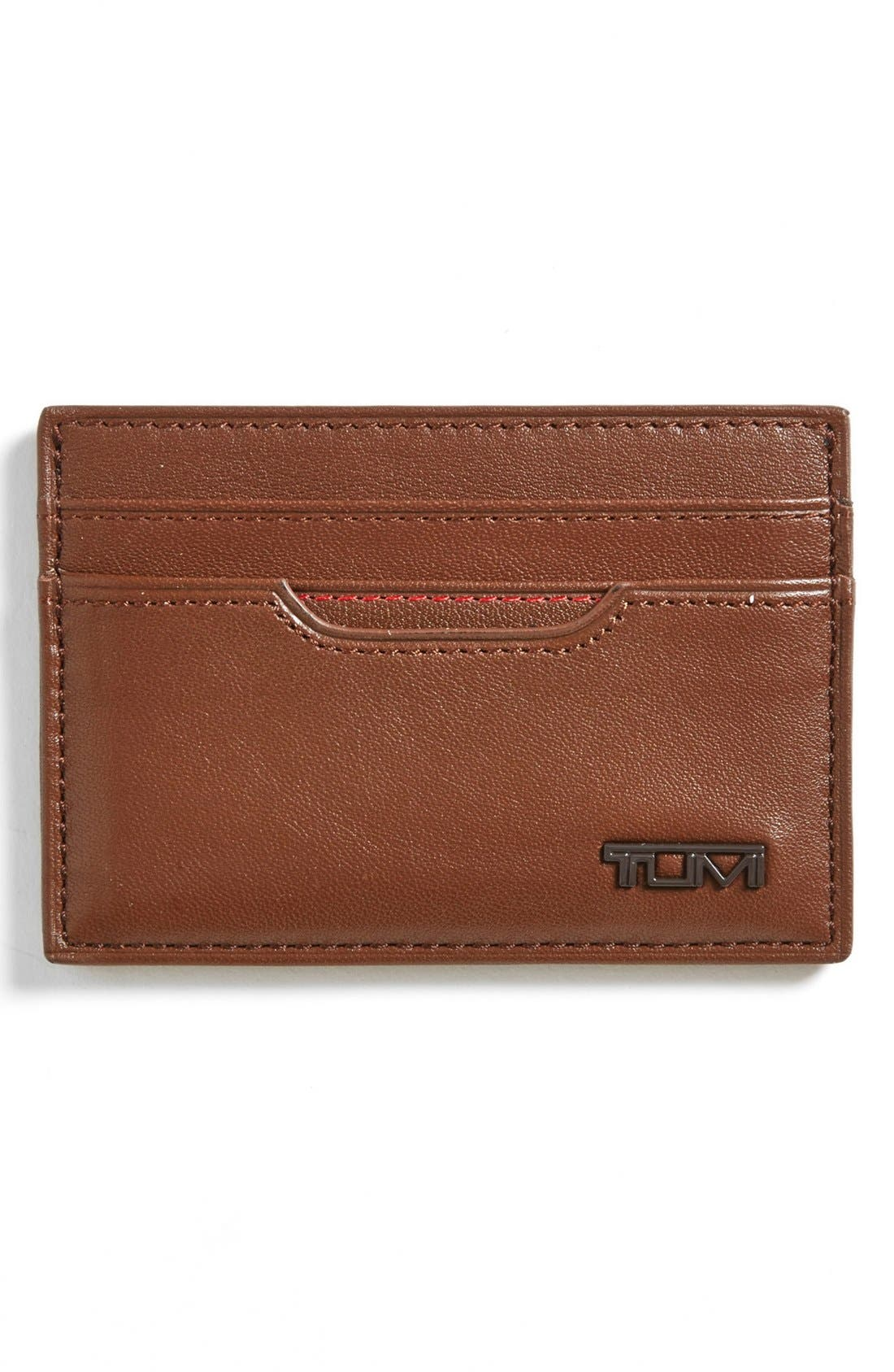 Alternate Image 1 Selected - Tumi 'Slim' Card Case ID Wallet