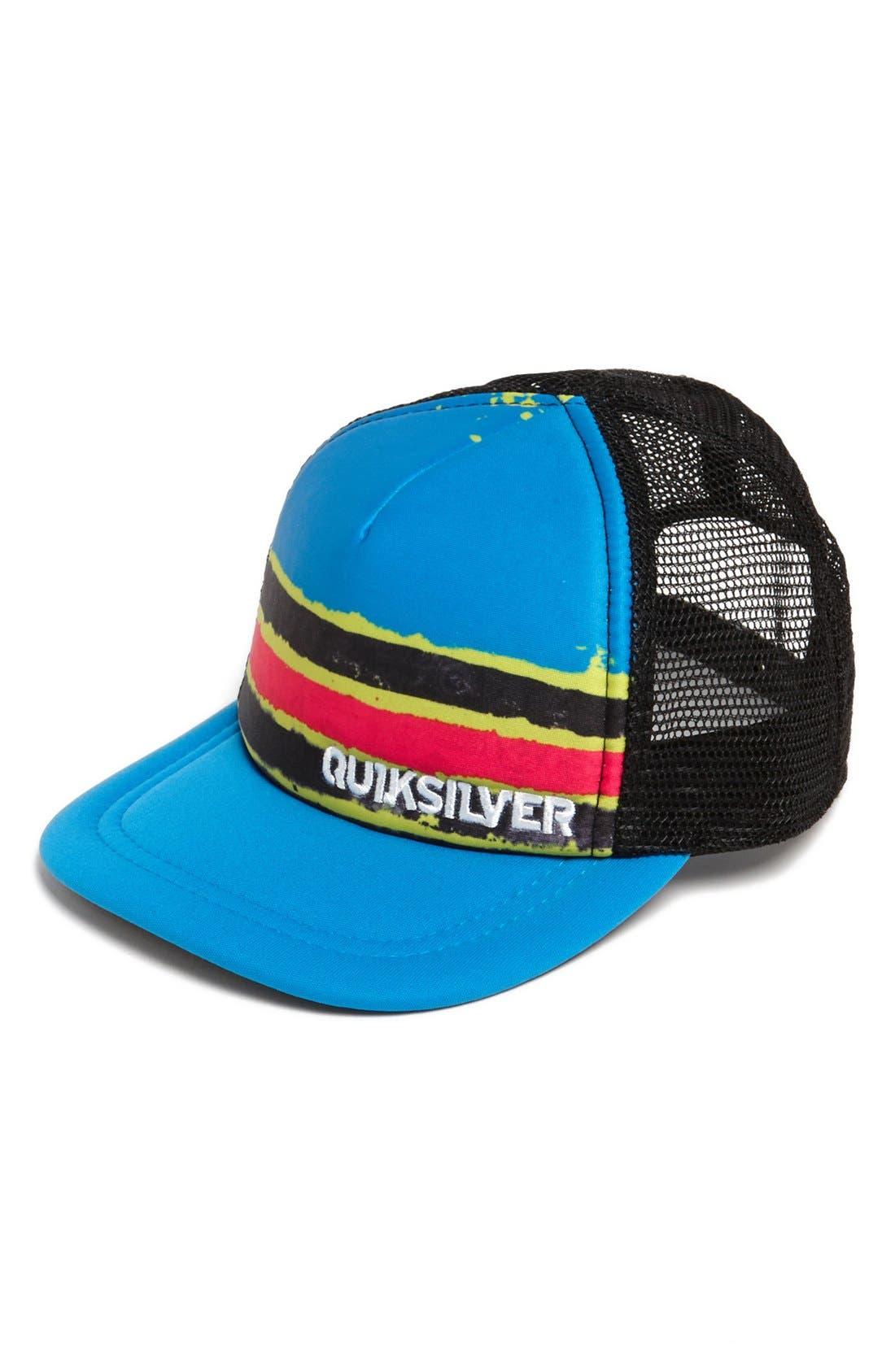 Main Image - Quiksilver 'Boards' Trucker Hat (Toddler Boys)