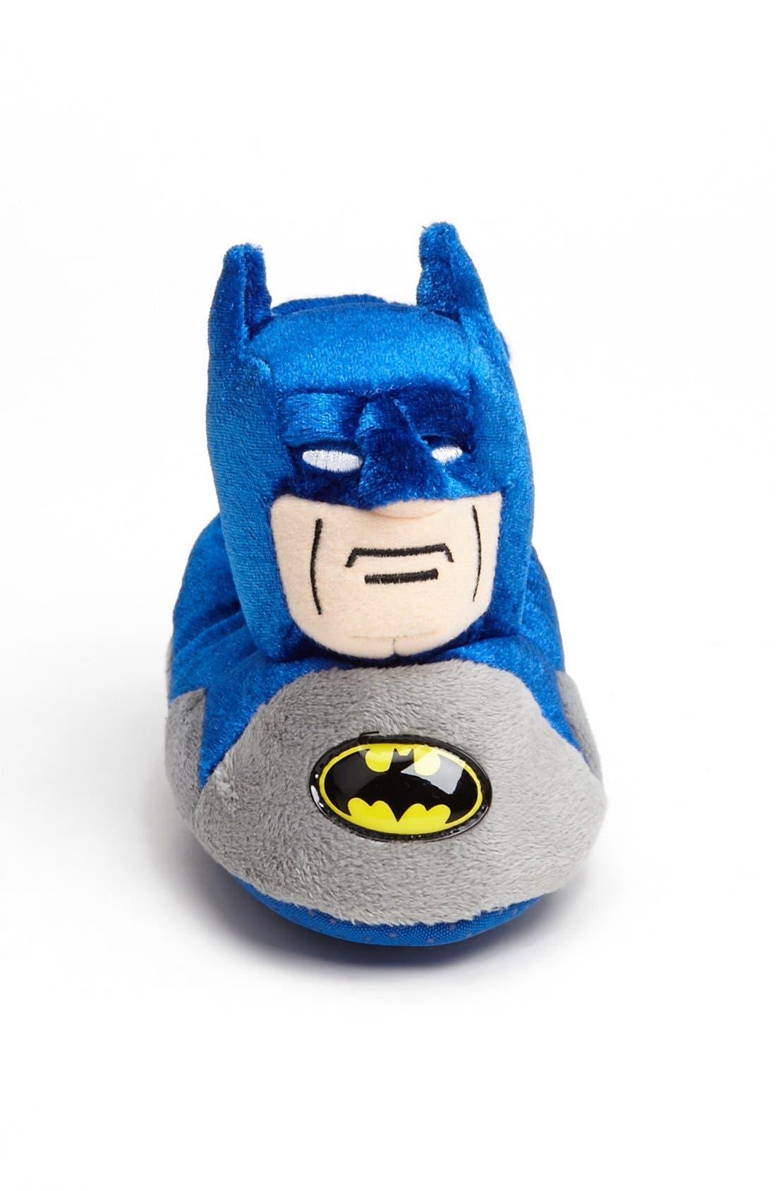 Alternate Image 3  - Marvel 'Batman' Slipper (Walker & Toddler)