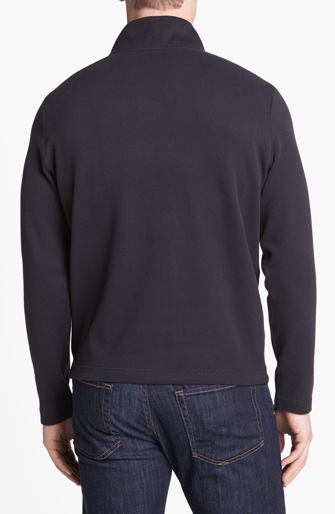 Alternate Image 2  - Robert Barakett 'Niles' Half Zip Sweatshirt