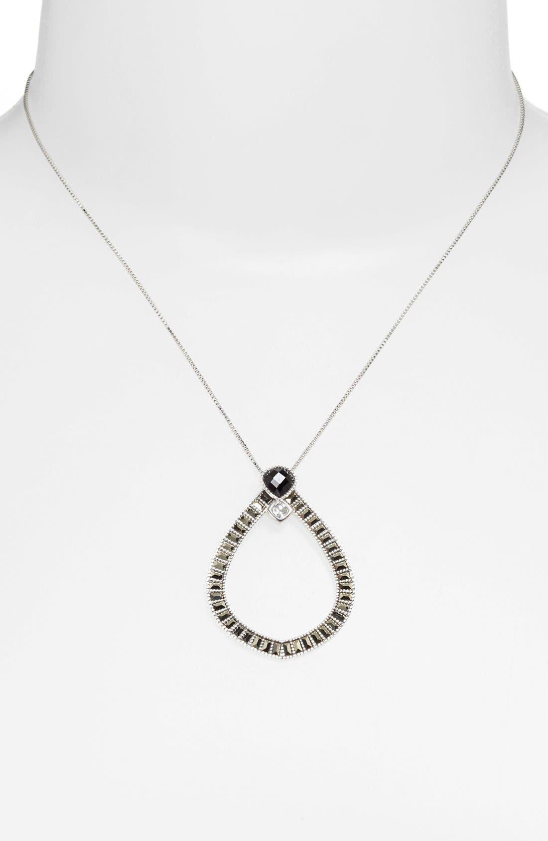 Alternate Image 1 Selected - Judith Jack Open Pendant Necklace