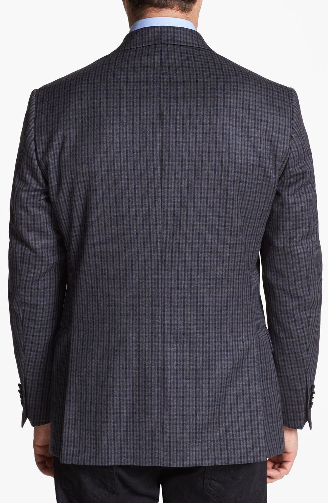 Alternate Image 3  - Michael Kors Trim Fit Plaid Sportcoat