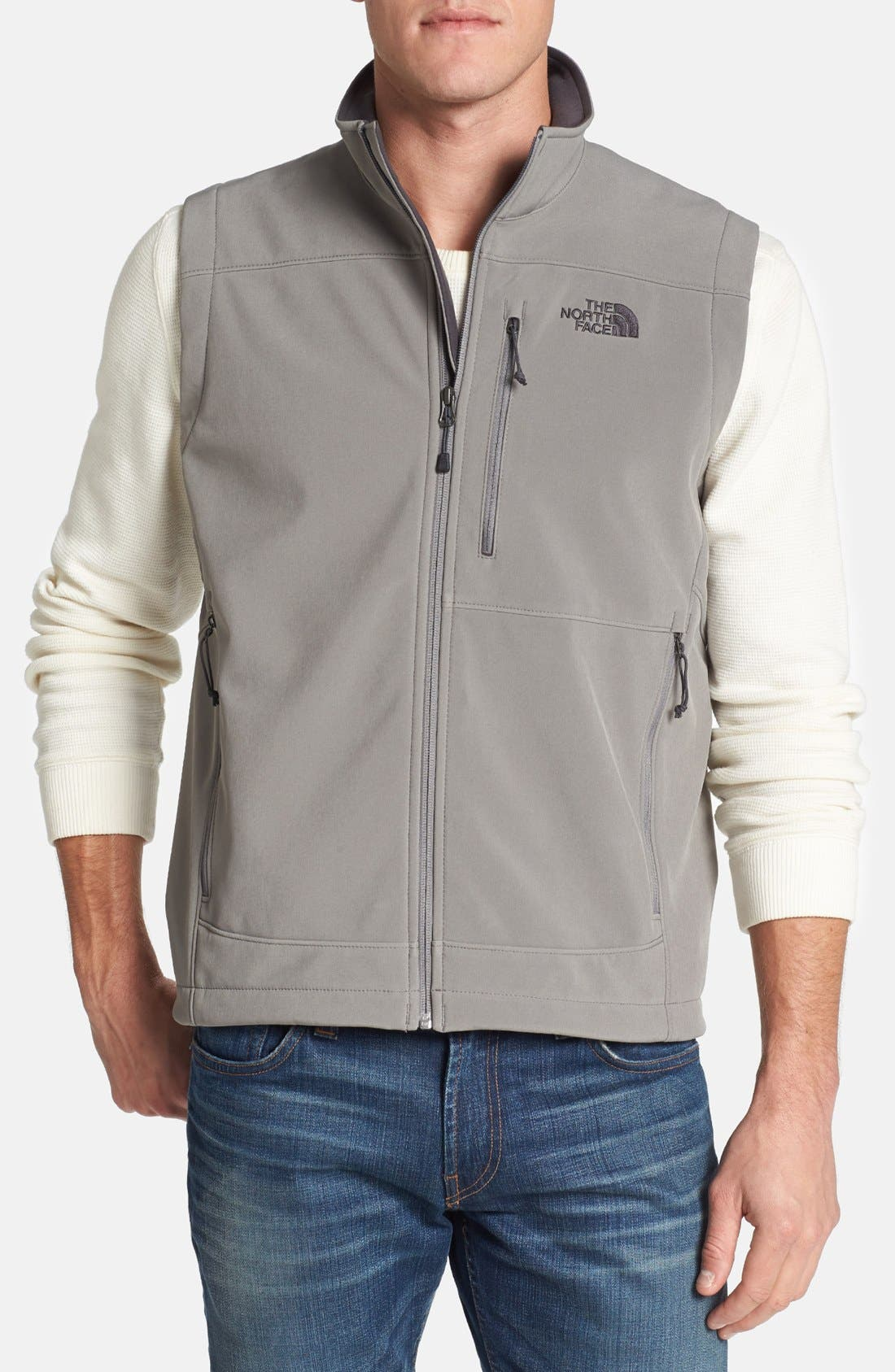 Alternate Image 1 Selected - The North Face 'Apex Bionic' Softshell Vest