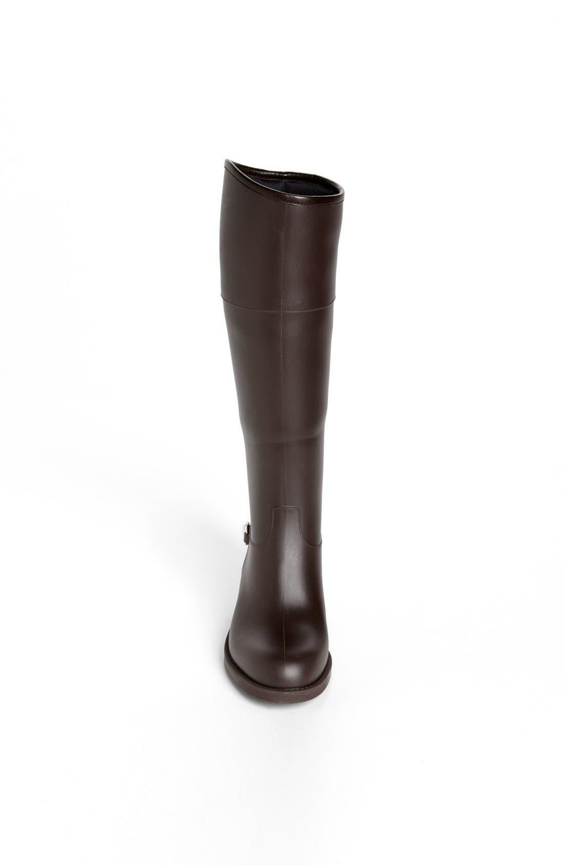 Alternate Image 3  - Gucci Rubber Waterproof Rain Boot