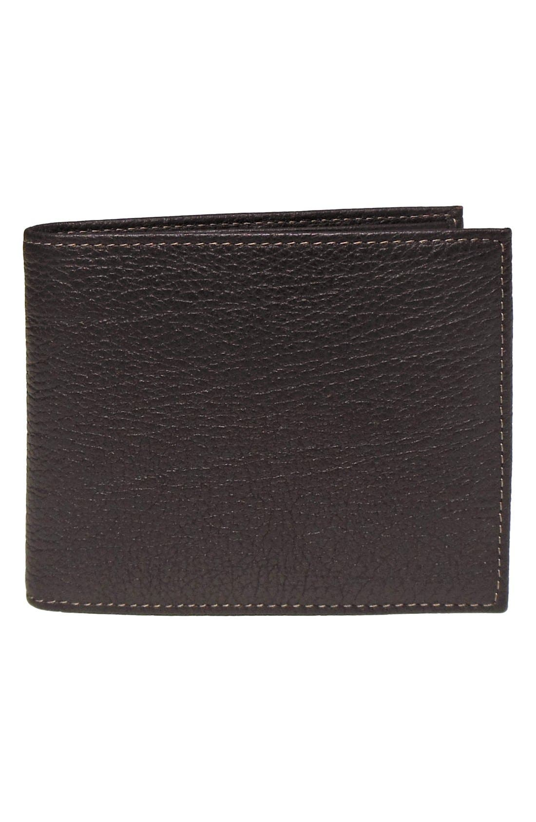 Alternate Image 1 Selected - Boconi Leather Wallet