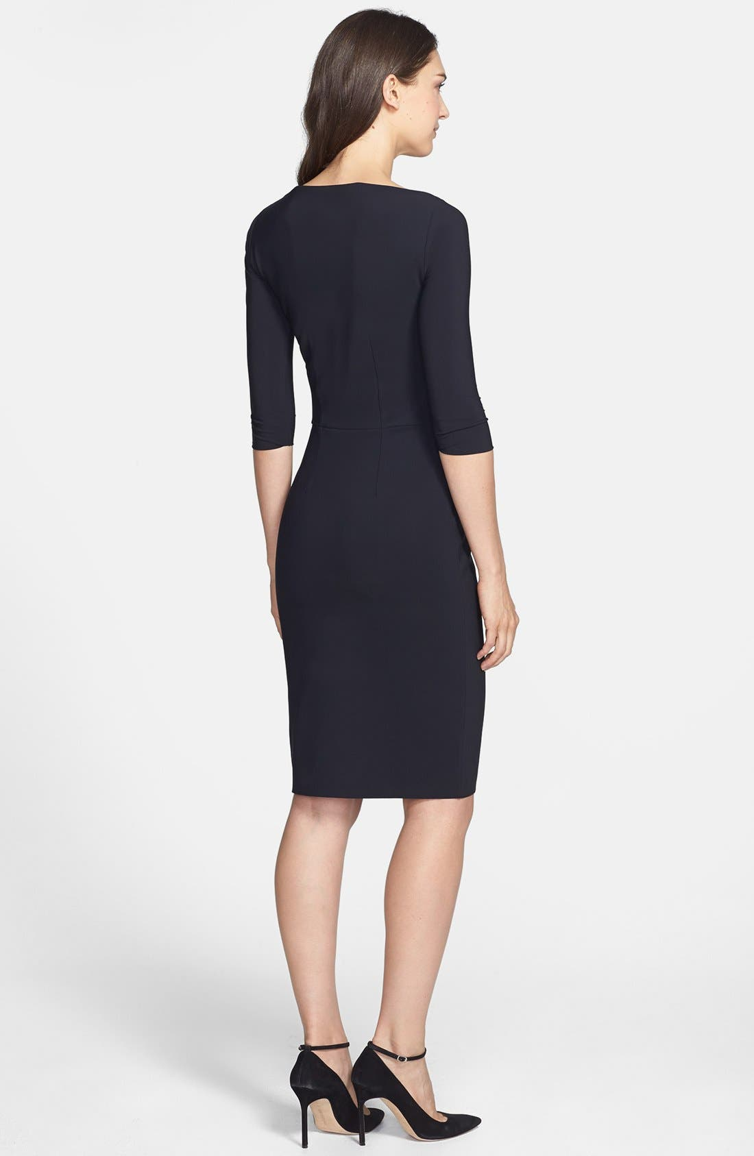 Alternate Image 2  - La Petite Robe by Chiara Boni Cutout Jersey Sheath Dress
