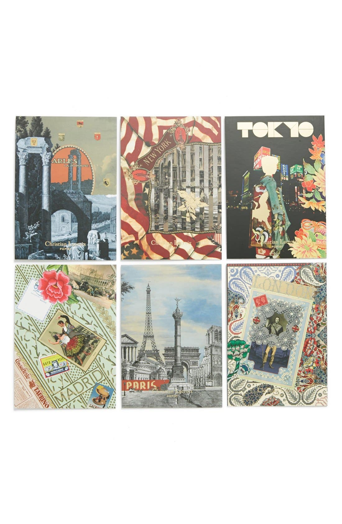 Alternate Image 2  - Christian Lacroix 'Voyage' Boxed Note Cards (Set of 6)