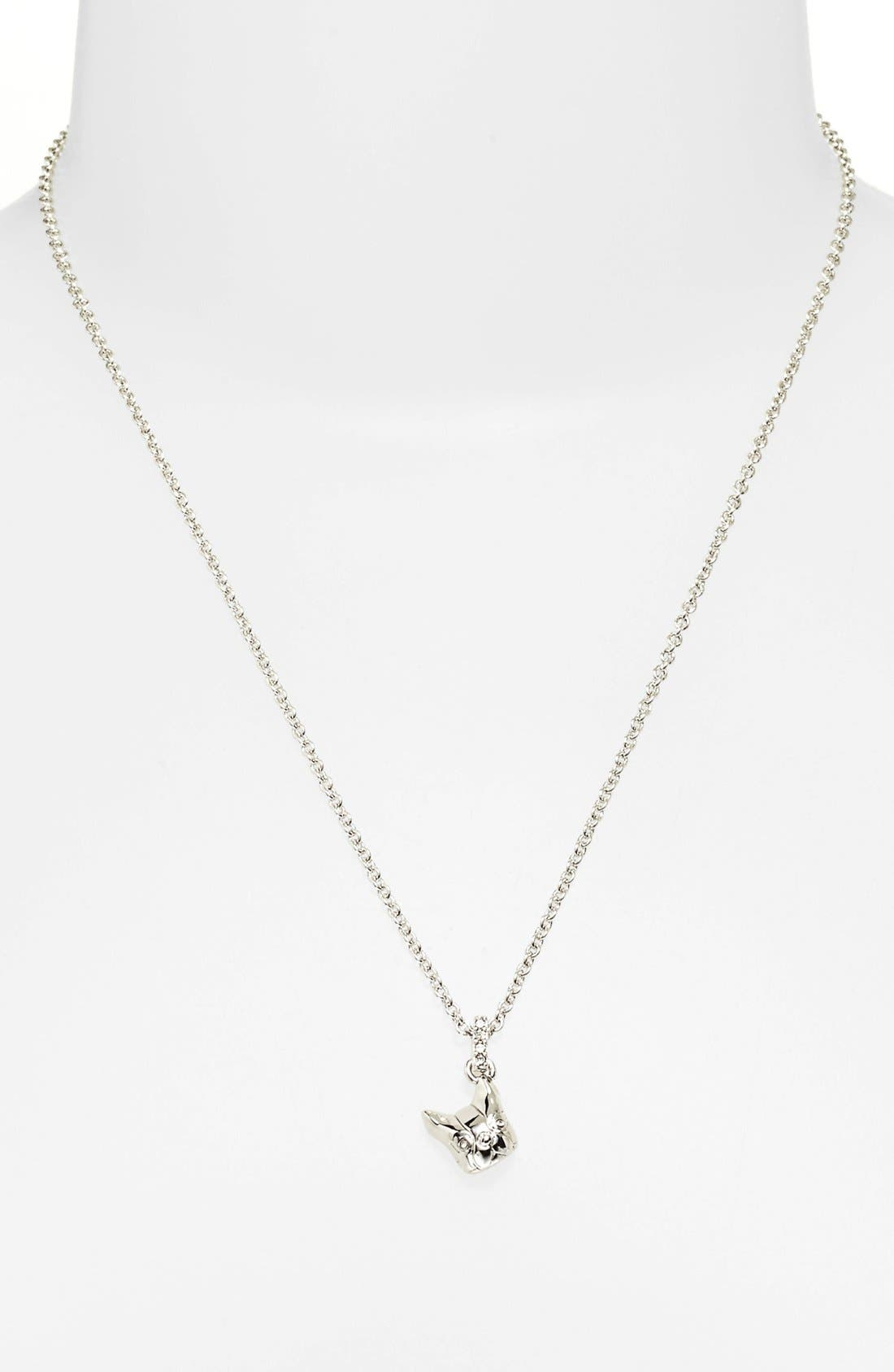 Marc By Marc Jacobs Dynamite Olive Dog Pendant