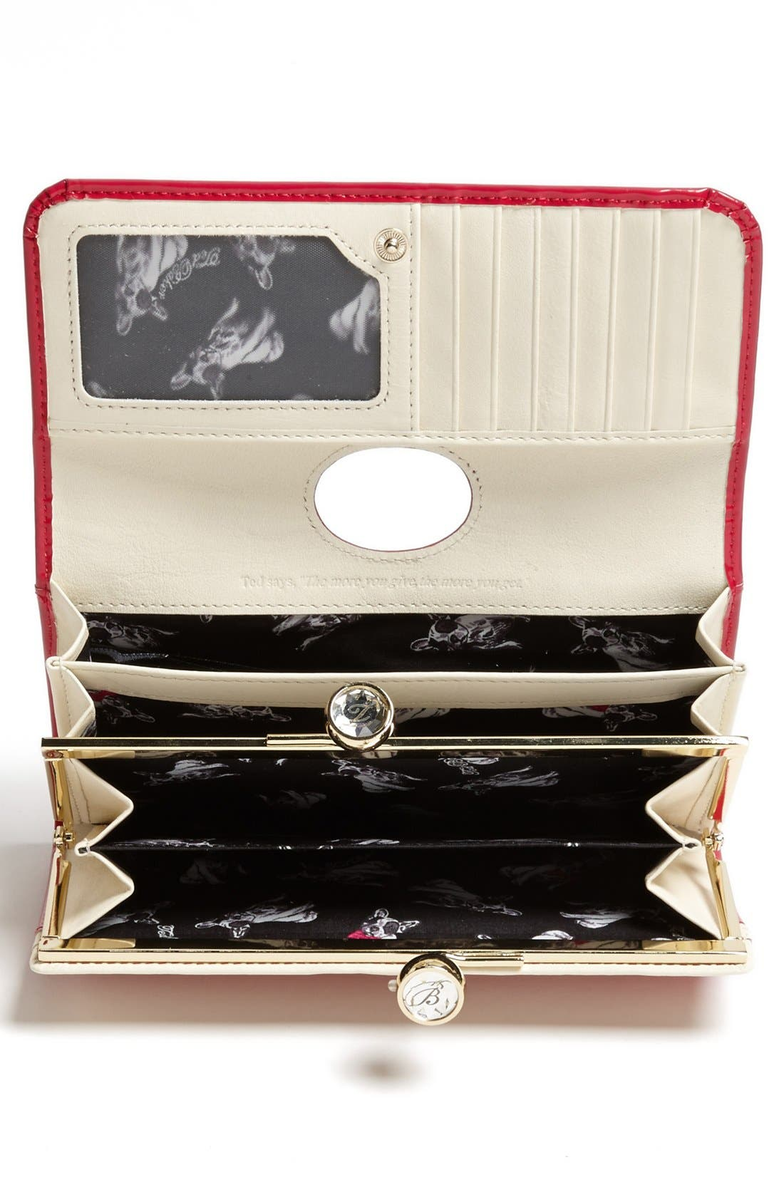 Alternate Image 2  - Ted Baker London 'Crystal Bobble' Matinee Wallet