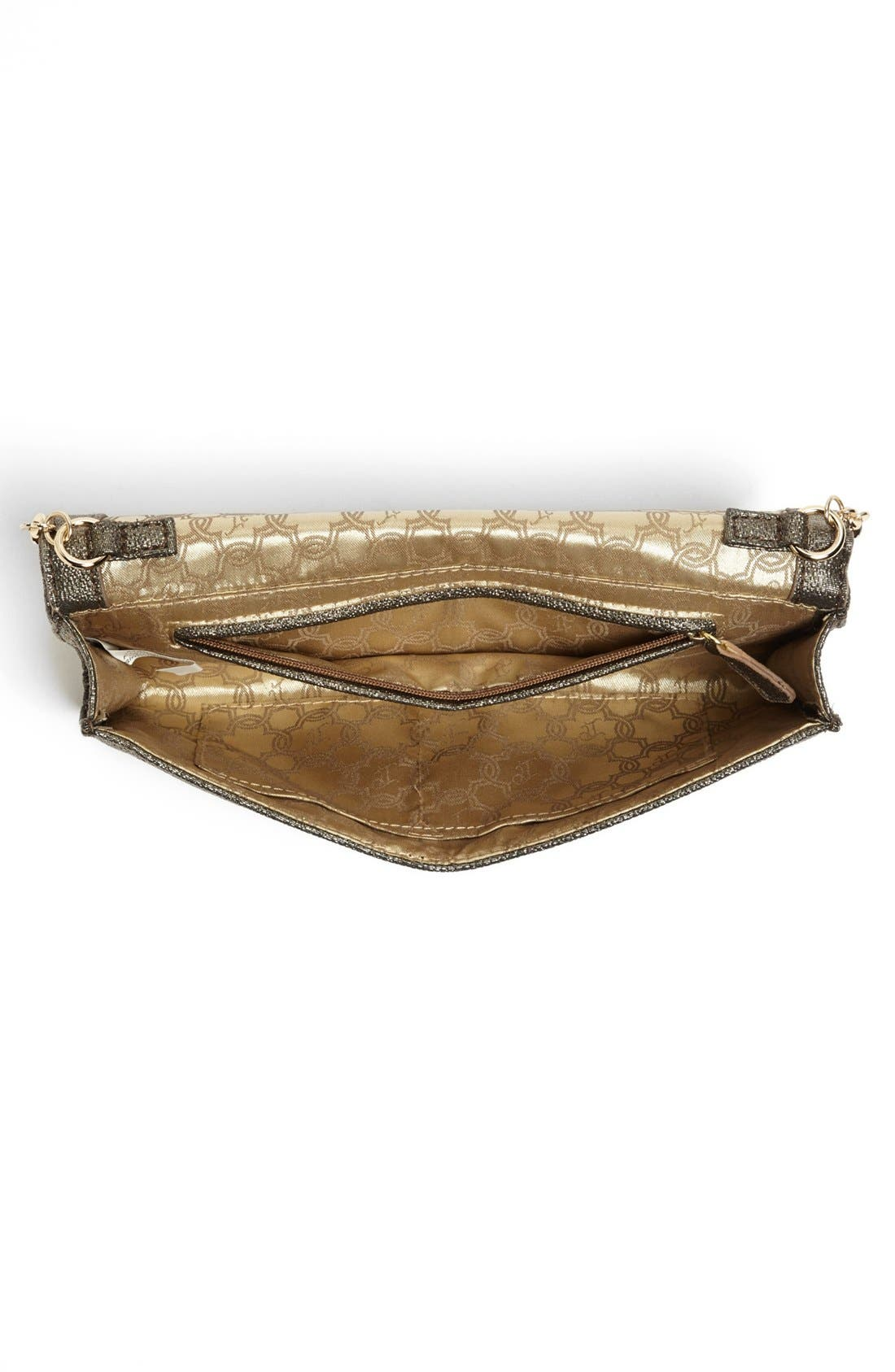 Alternate Image 2  - Ivanka Trump Metallic Clutch
