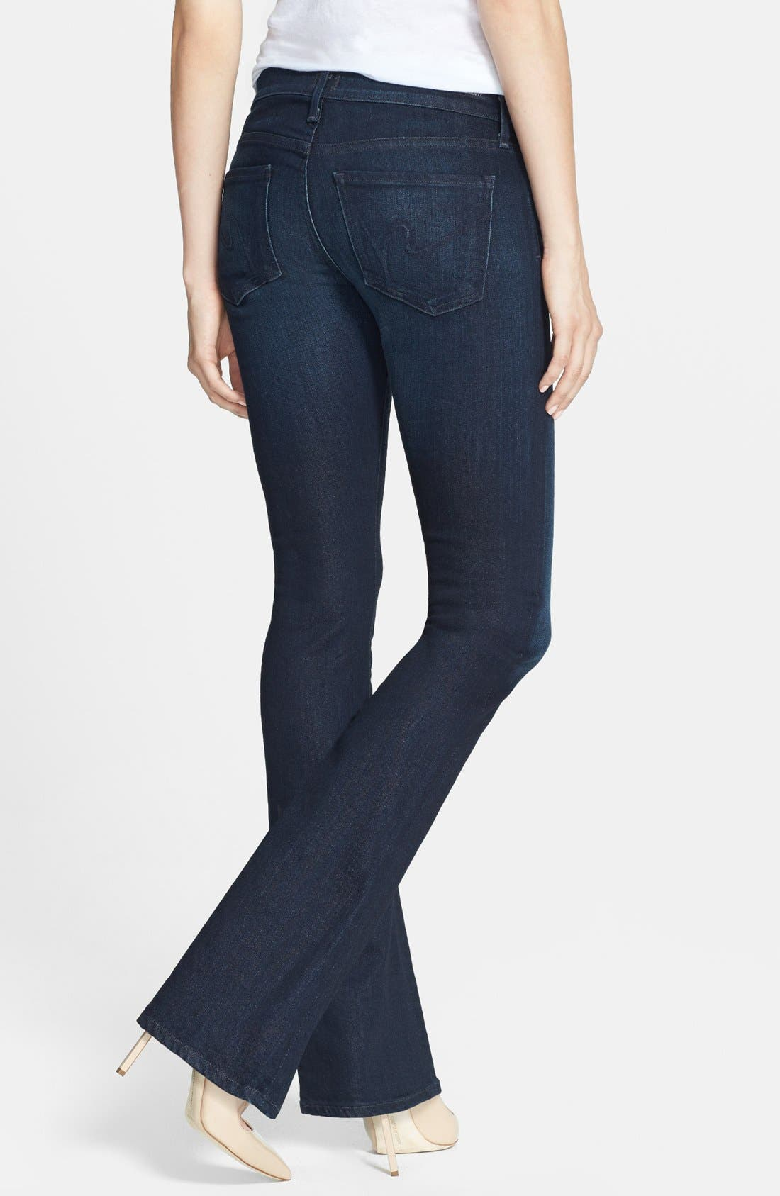 Alternate Image 2  - Citizens of Humanity 'Emmanuelle' Bootcut Jeans (Space) (Petite)