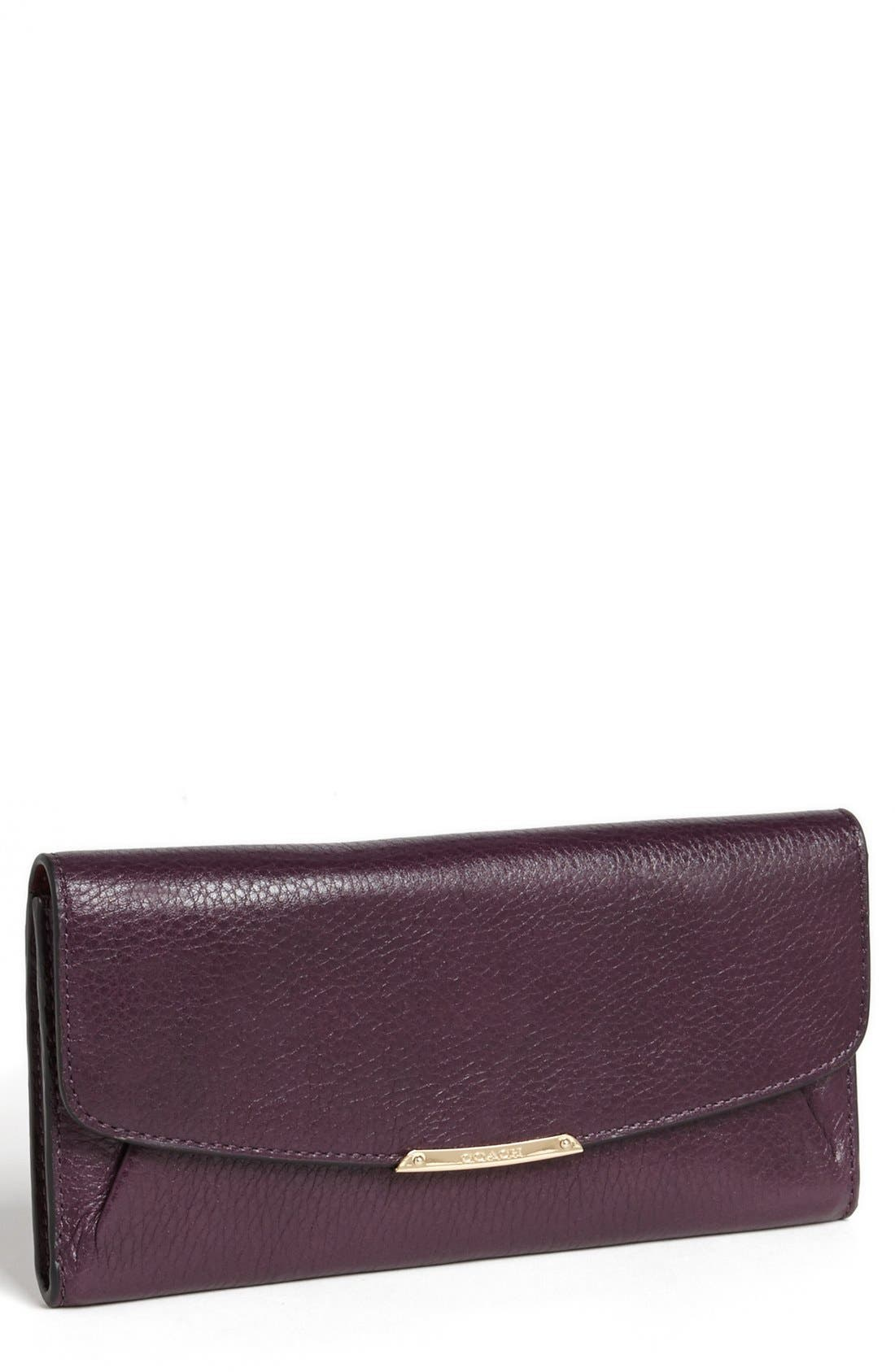 Alternate Image 1 Selected - COACH 'Madison' Leather Envelope Wallet