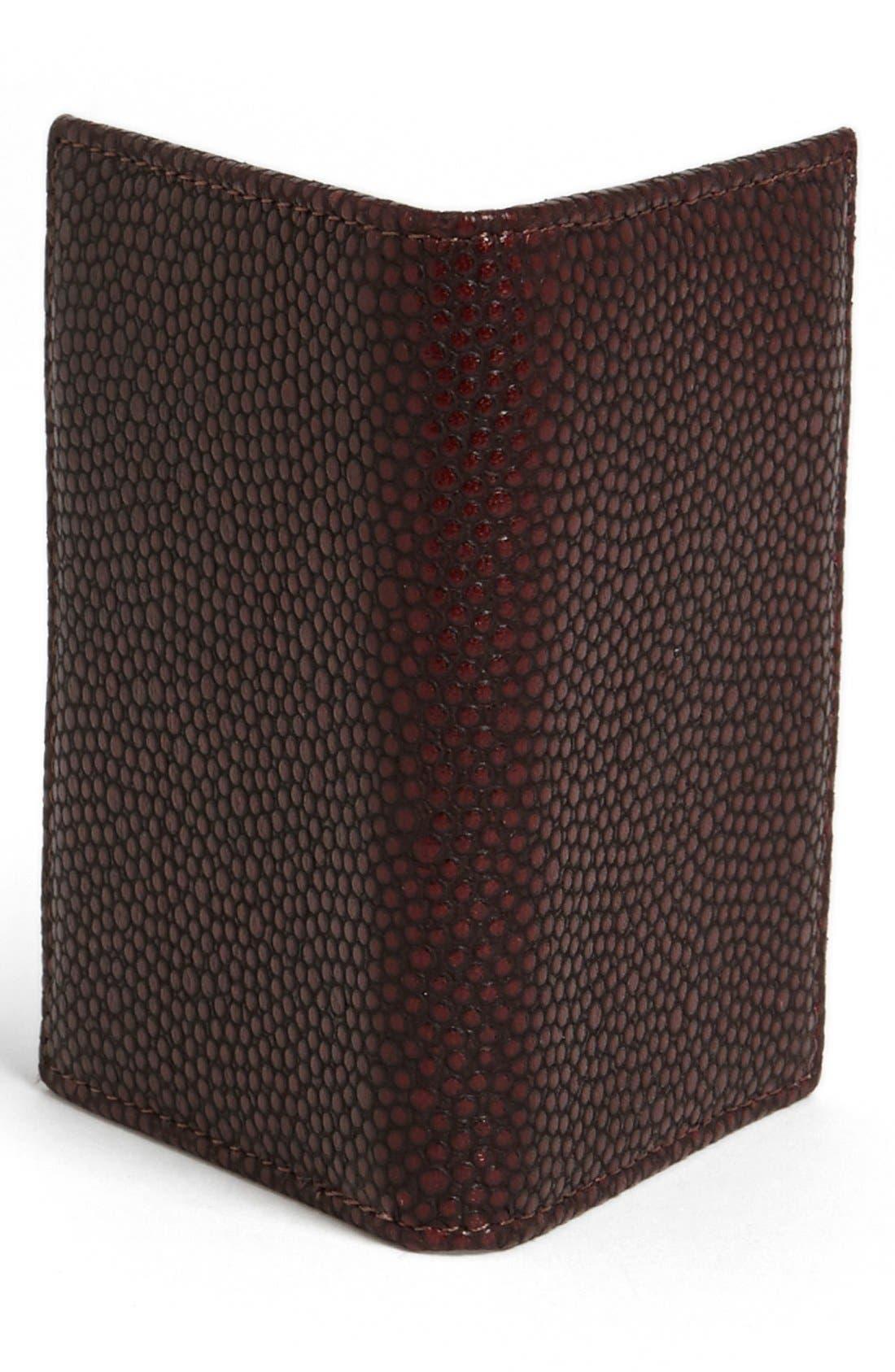 Alternate Image 3  - John Varvatos Collection Leather Card Case