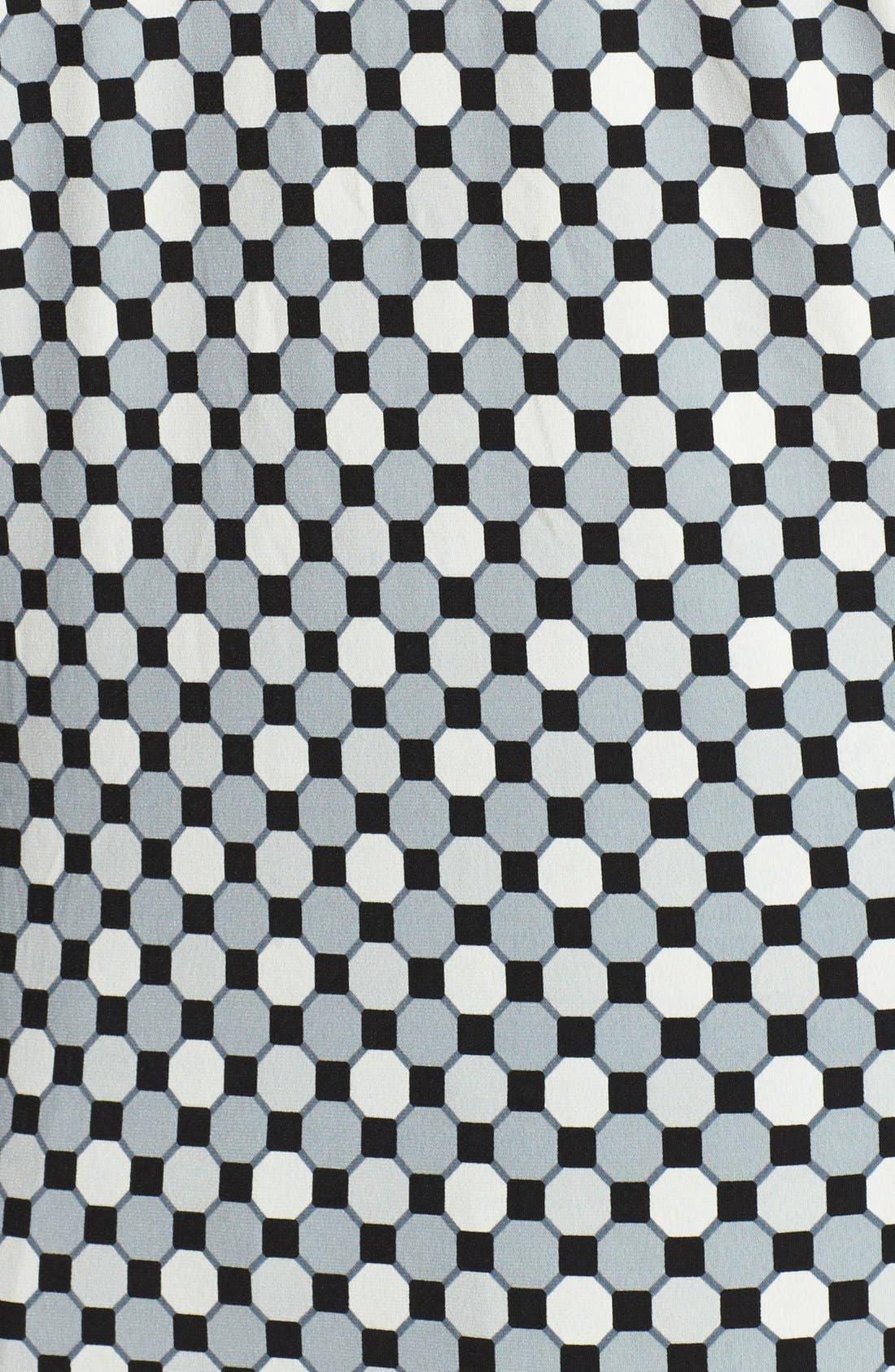 Alternate Image 3  - Vince Camuto Print Faux Wrap Top (Plus Size)