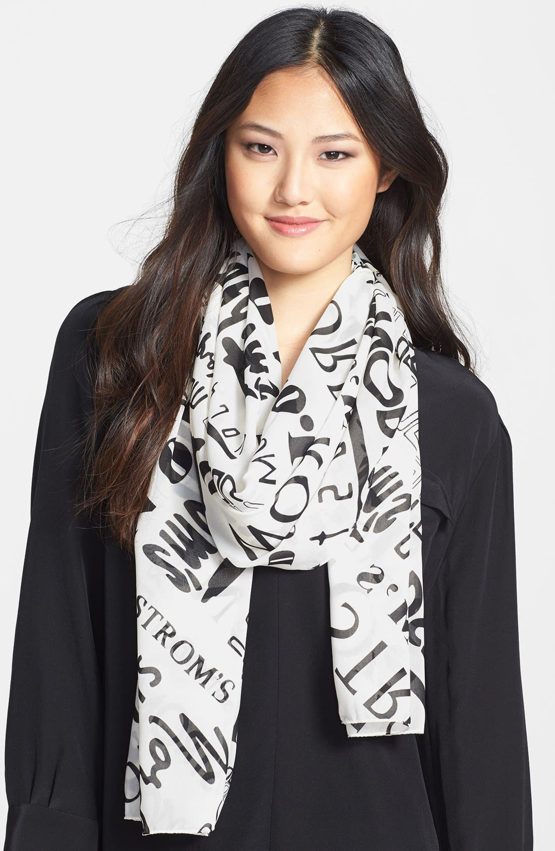 Main Image - Nordstrom 'Heritage' Print Scarf