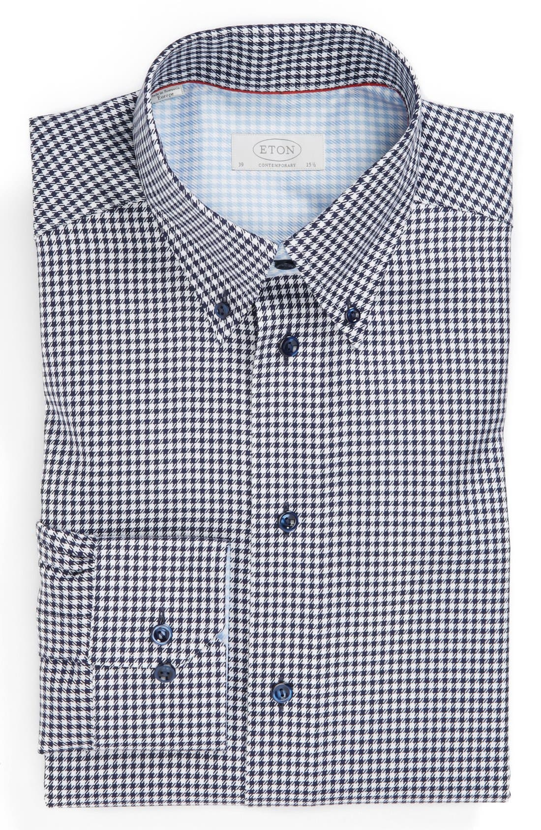 Alternate Image 1 Selected - Eton Contemporary Fit Non-Iron Dress Shirt