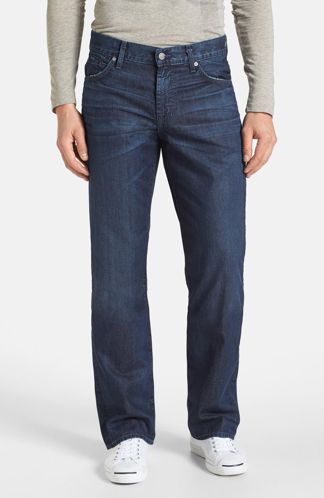 Alternate Image 1 Selected - 7 For All Mankind® 'Austyn' Relaxed Fit Jeans (Highland Park Lane)