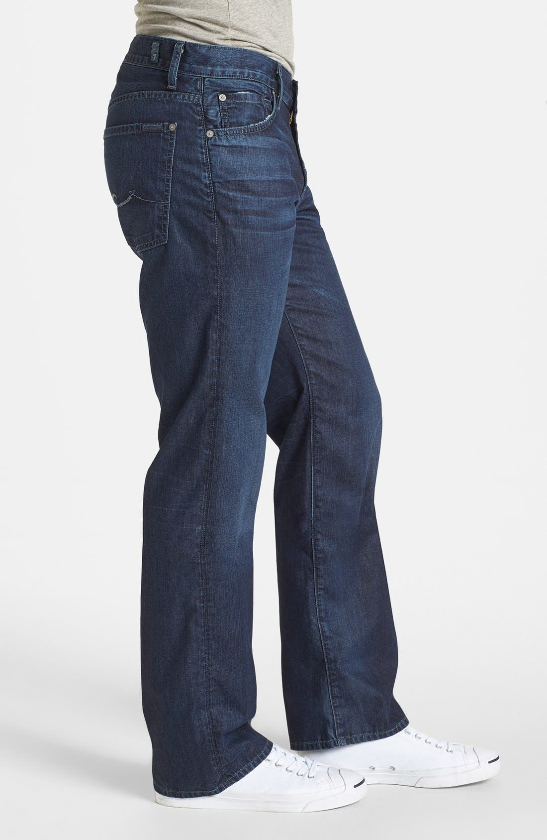 Alternate Image 3  - 7 For All Mankind® 'Austyn' Relaxed Fit Jeans (Highland Park Lane)