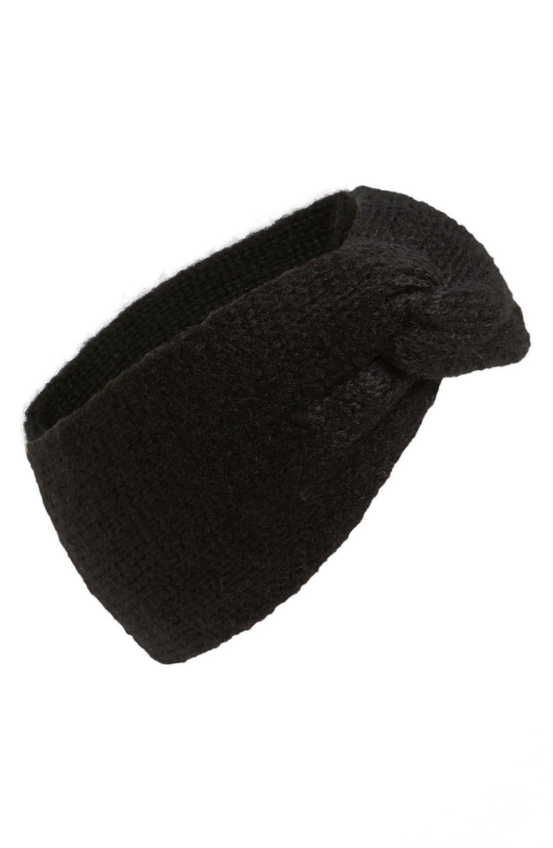 Main Image - BP. Knotted Sweater Headband (Juniors)