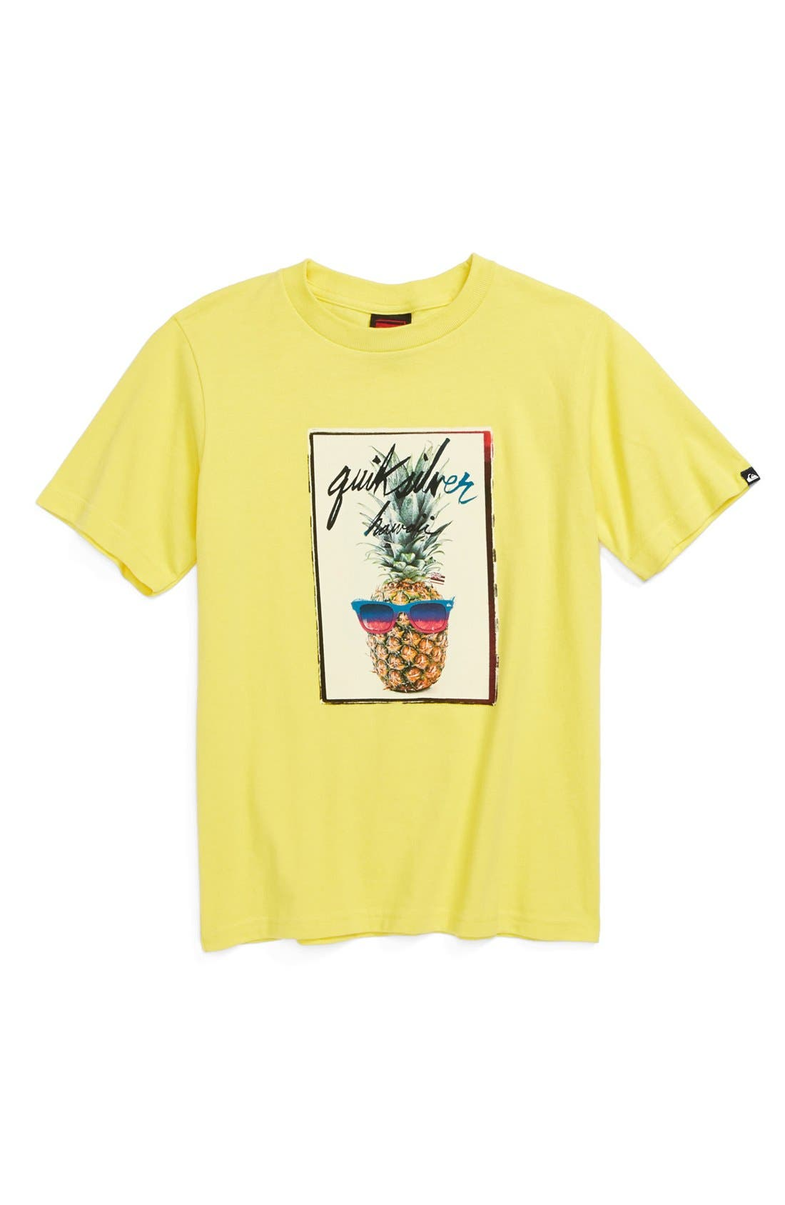 Alternate Image 1 Selected - Quiksilver 'Pine On' Graphic T-Shirt (Big Boys)