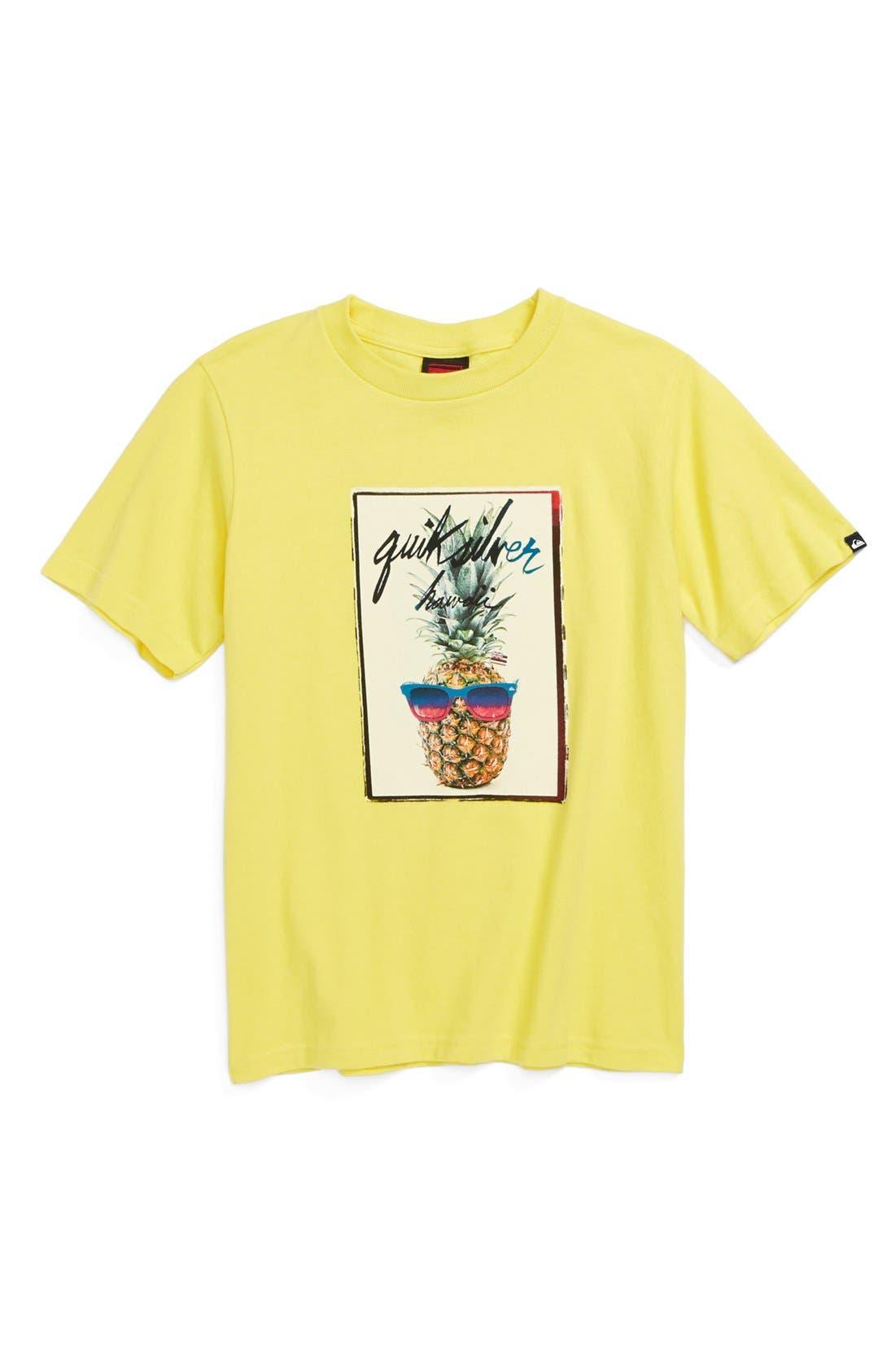 Main Image - Quiksilver 'Pine On' Graphic T-Shirt (Big Boys)