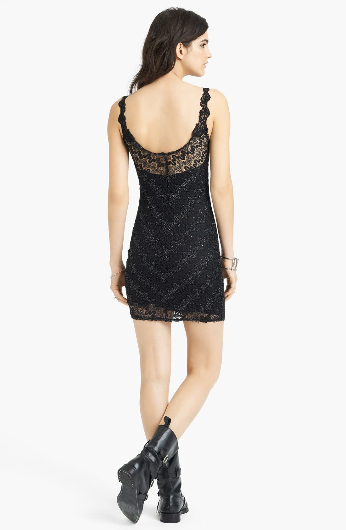 Alternate Image 2  - Free People 'Again' Lace Body-Con Dress