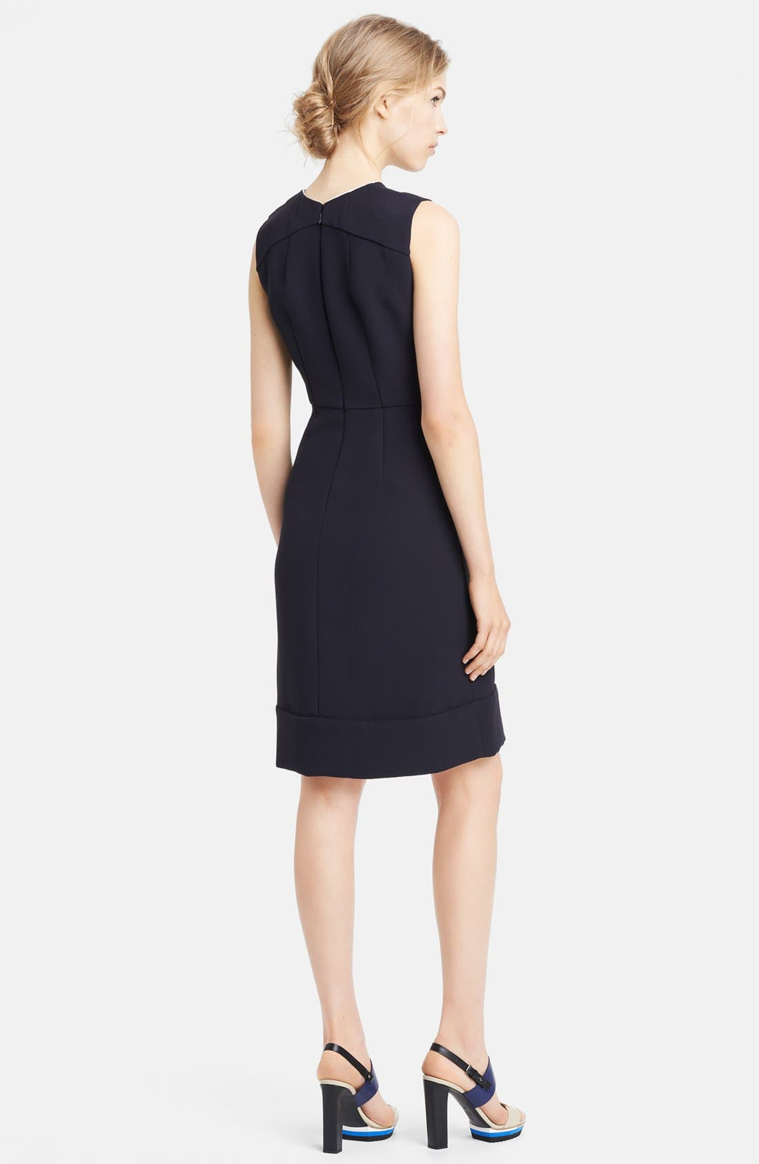 Alternate Image 2  - Marni Sleeveless Crepe Cady Dress