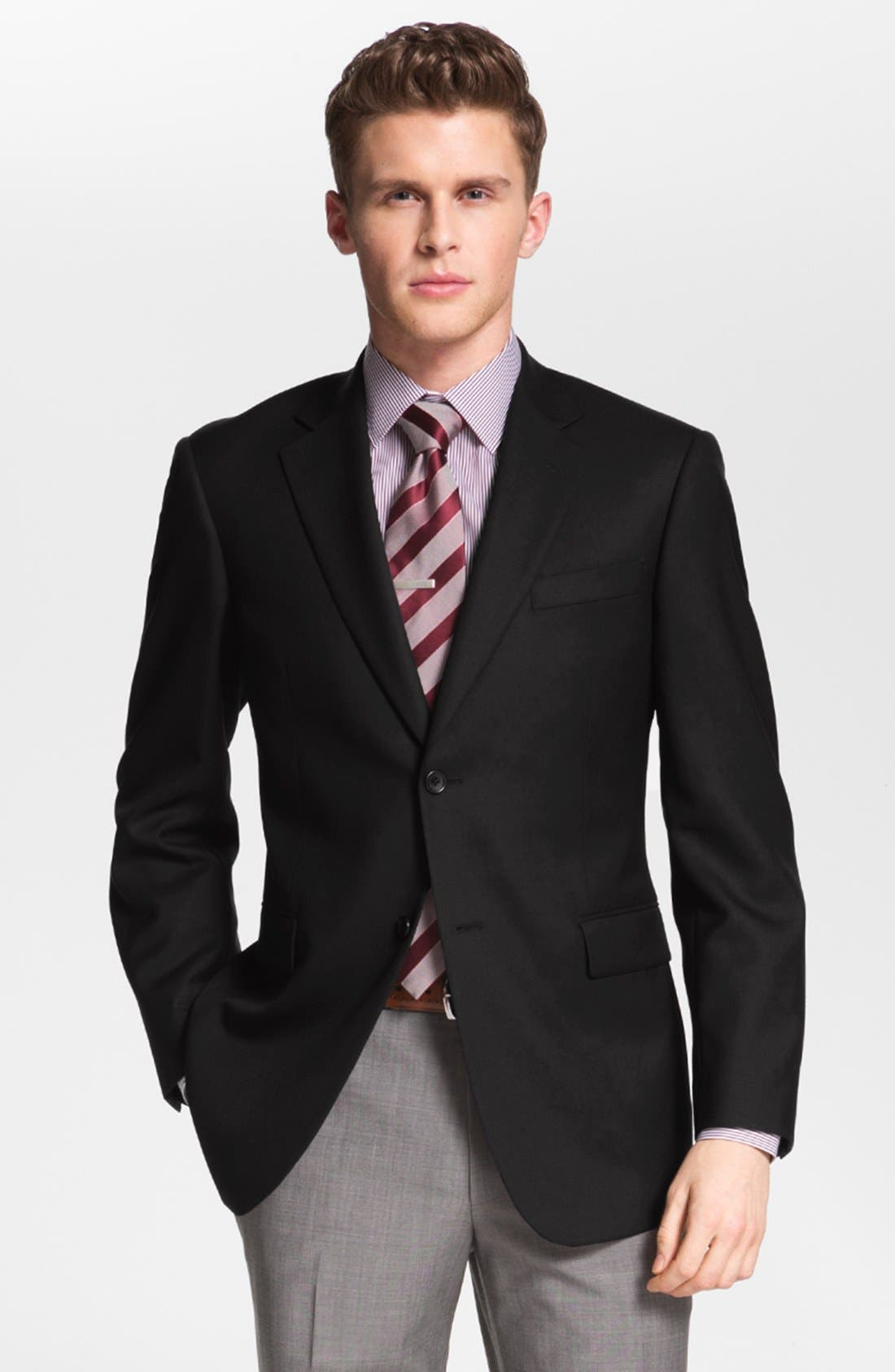 Main Image - Nordstrom Wool Blazer (Online Only)