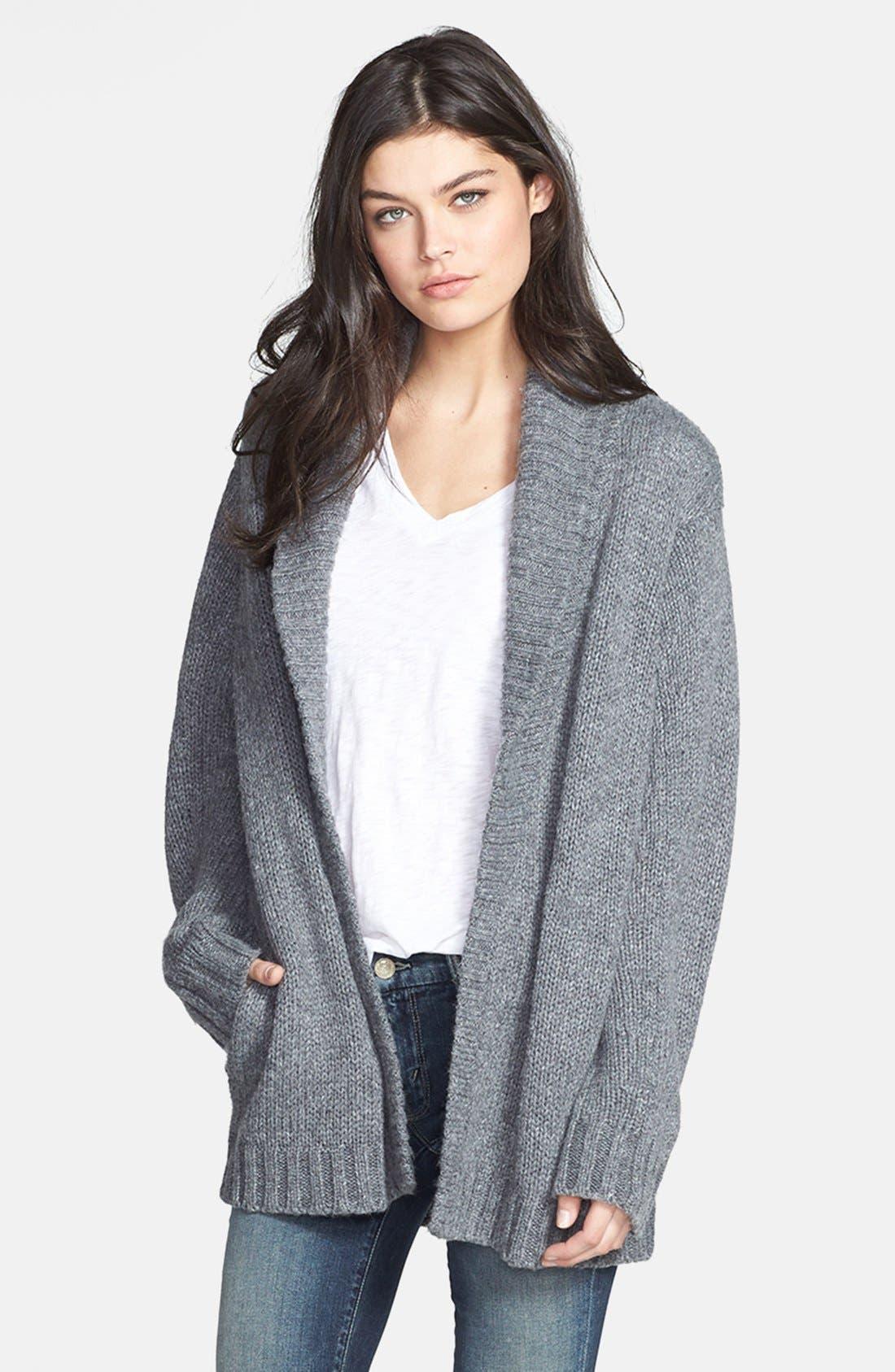 Alternate Image 1 Selected - Hinge® Shawl Collar Heathered Cardigan