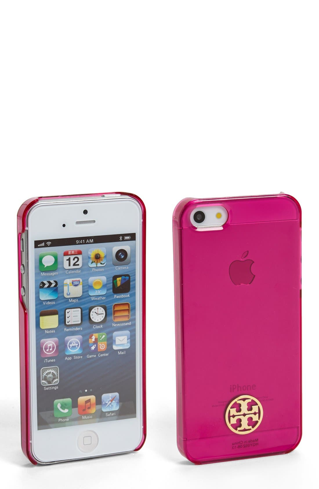 Alternate Image 1 Selected - Tory Burch Clear iPhone 5 Case
