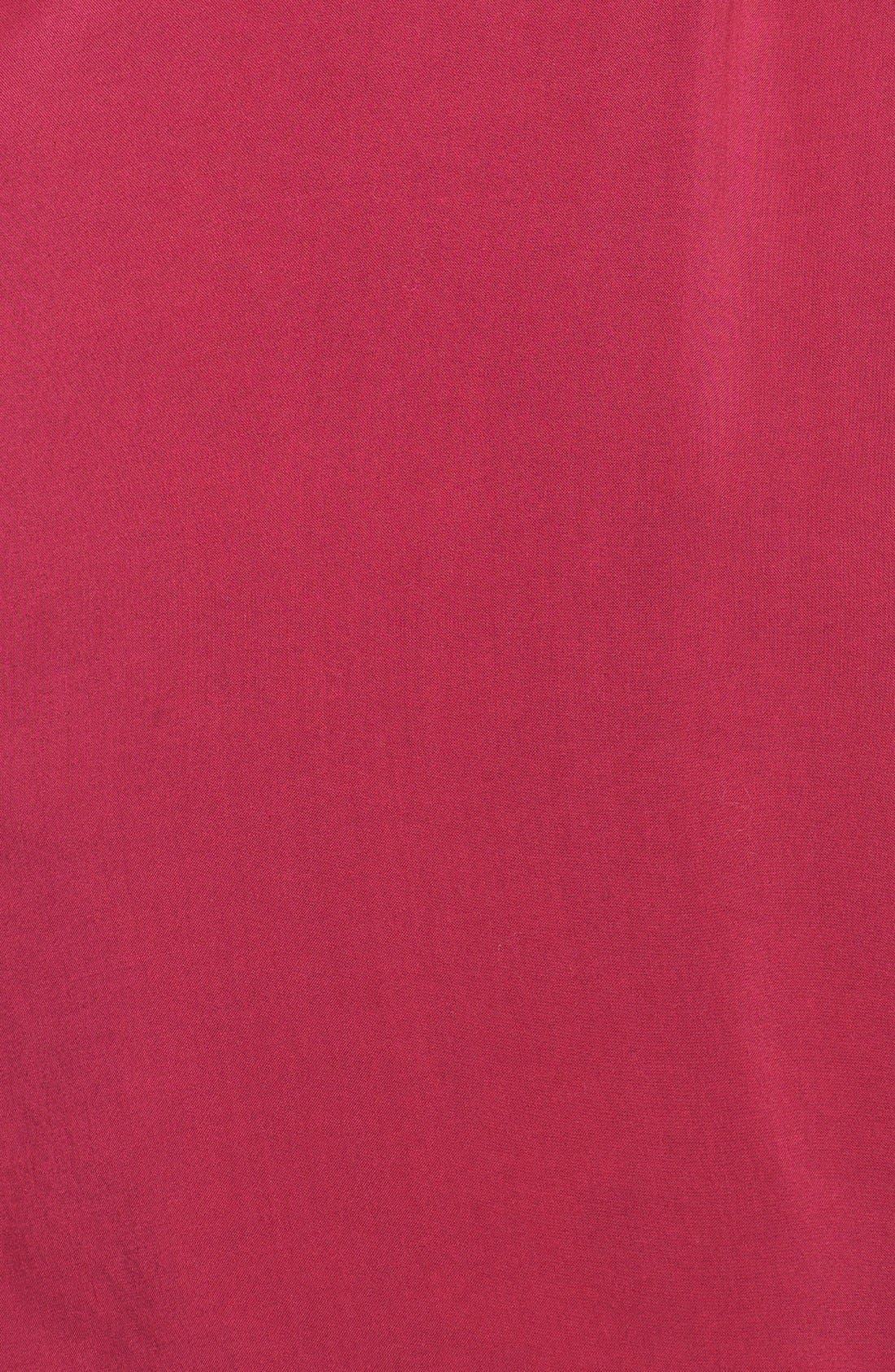 Alternate Image 3  - Sandra Ingrish Button Tab Sleeve Tunic (Plus Size)