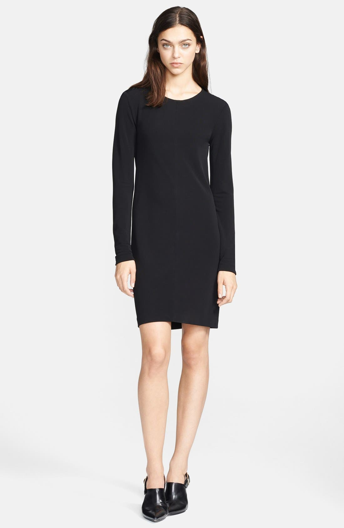 Alternate Image 1 Selected - T by Alexander Wang Cowl Back Matte Jersey Dress