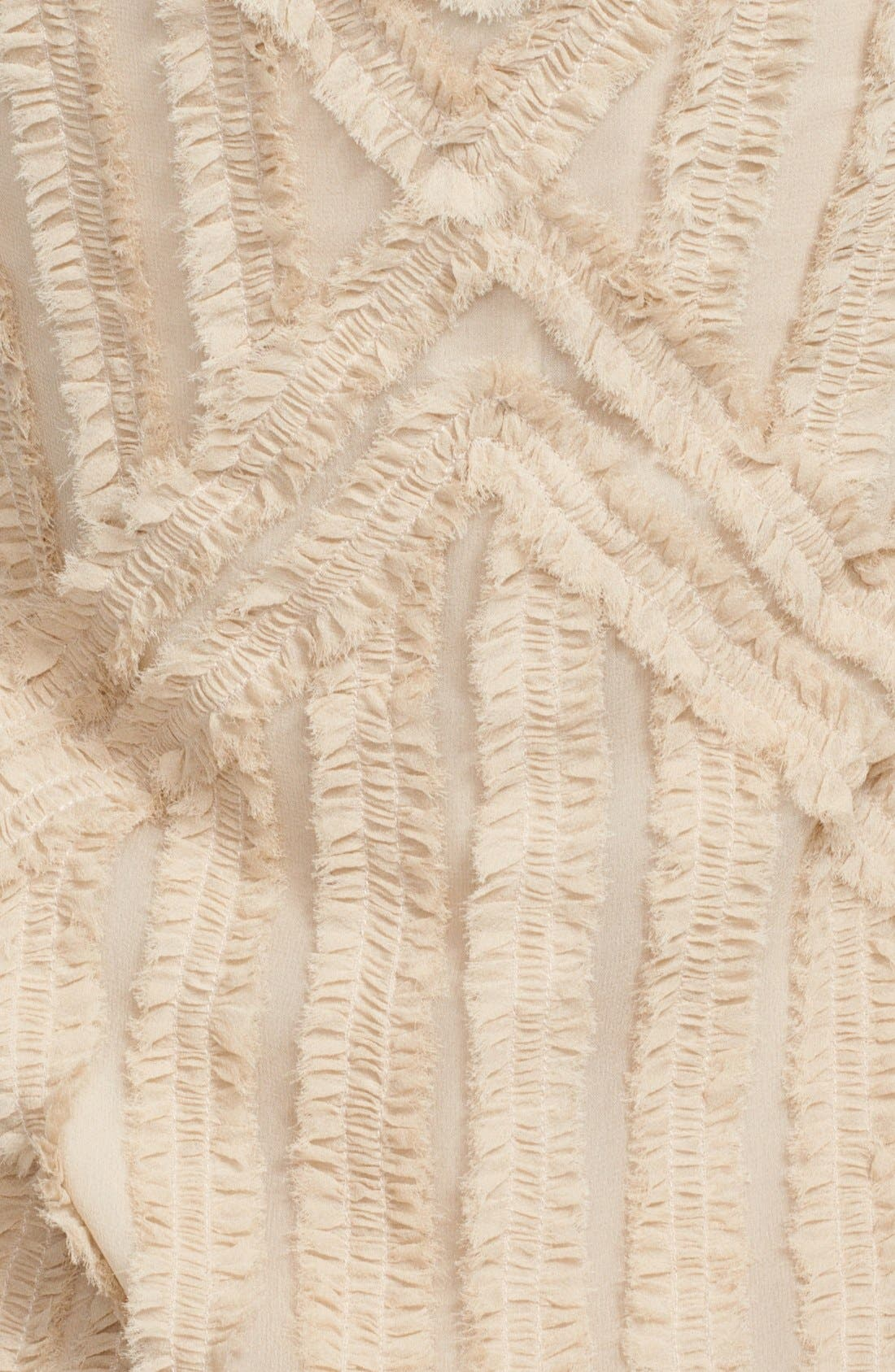 Alternate Image 3  - Rachel Zoe 'Rita' Shirred Chiffon Dress