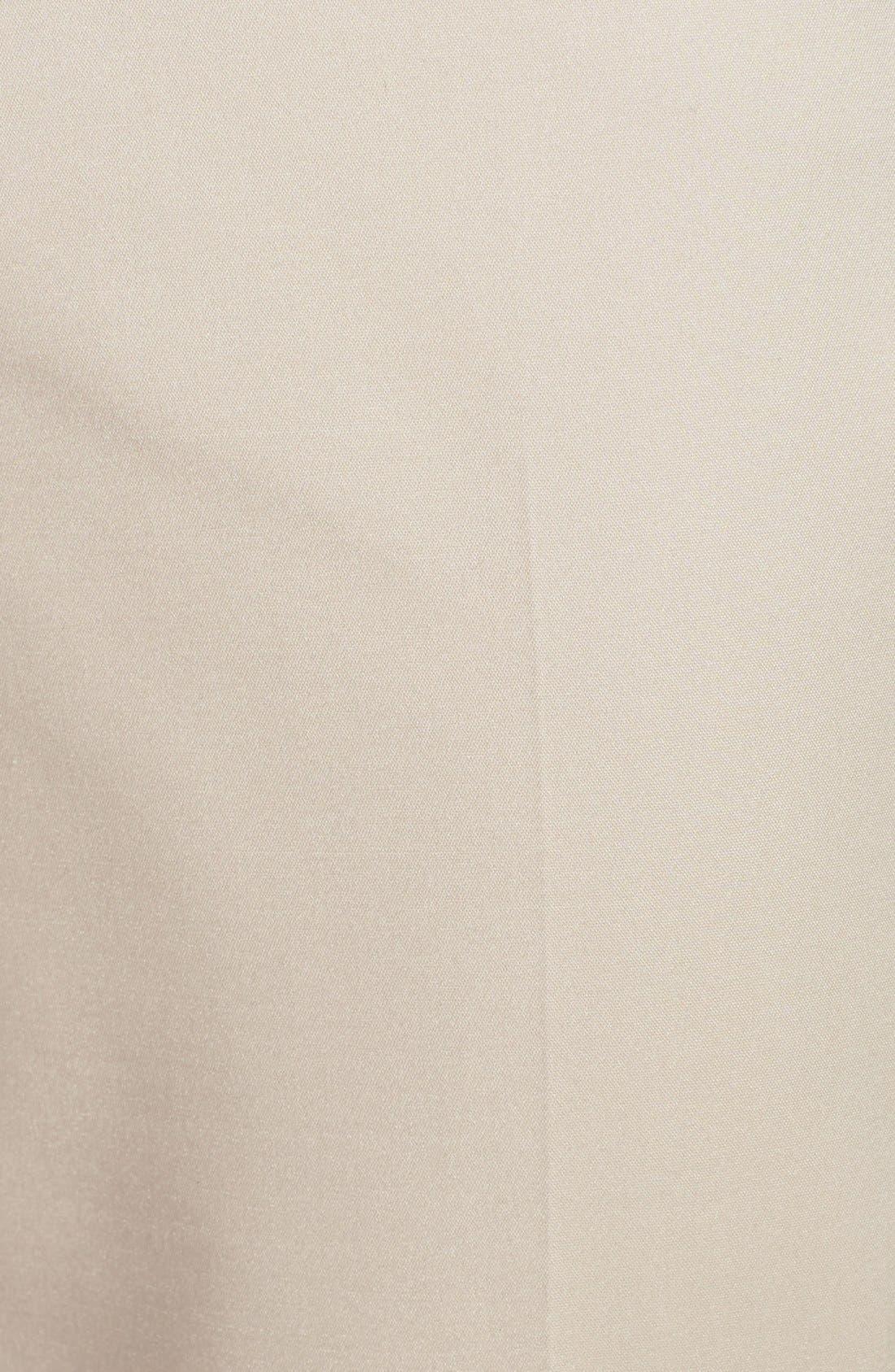 Alternate Image 3  - Halogen® 'Taylor' Stretch Cotton Blend Crop Pants