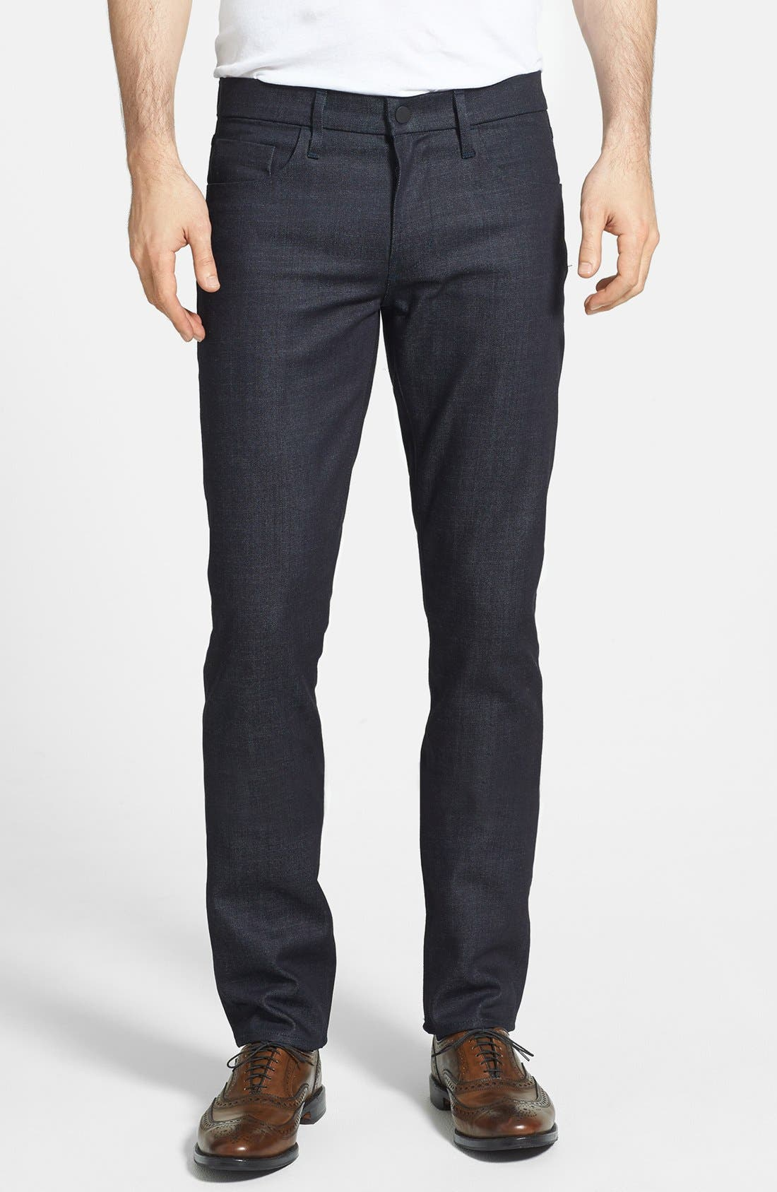 Alternate Image 1 Selected - J Brand 'Tyler' Skinny Fit Jeans (Clean Raw)