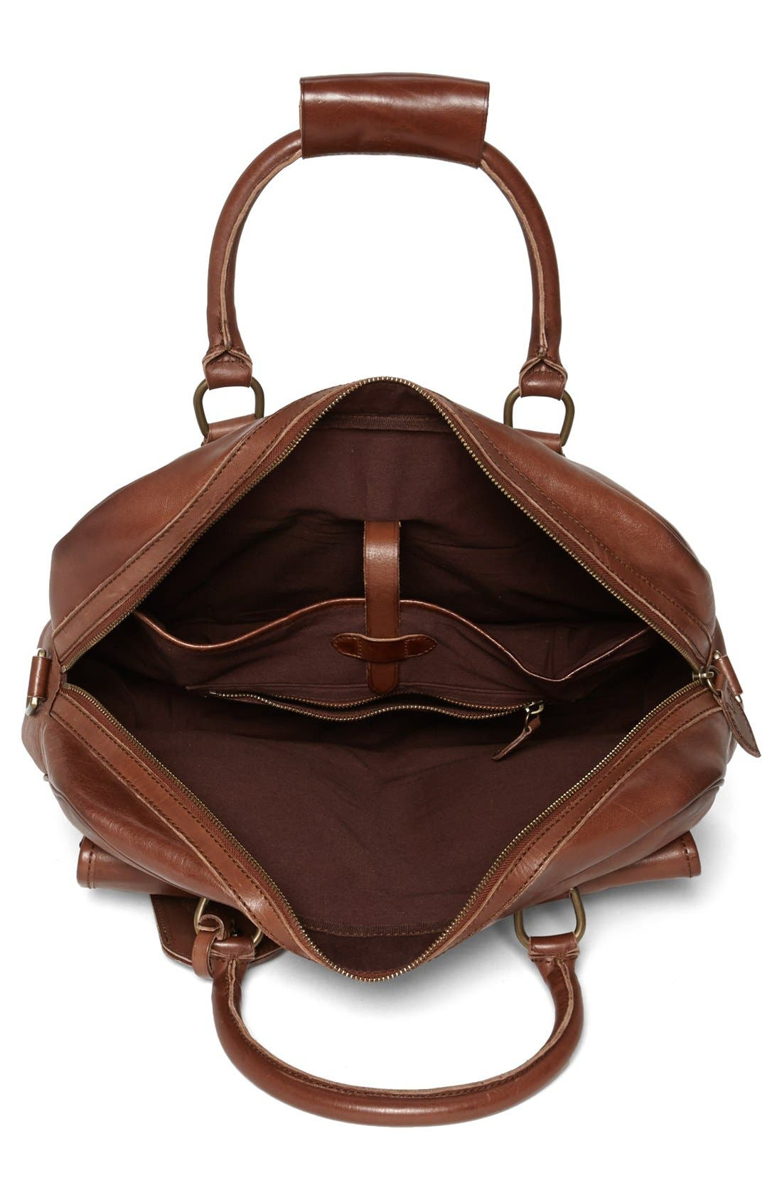 Alternate Image 3  - Polo Ralph Lauren Leather Commuter Bag