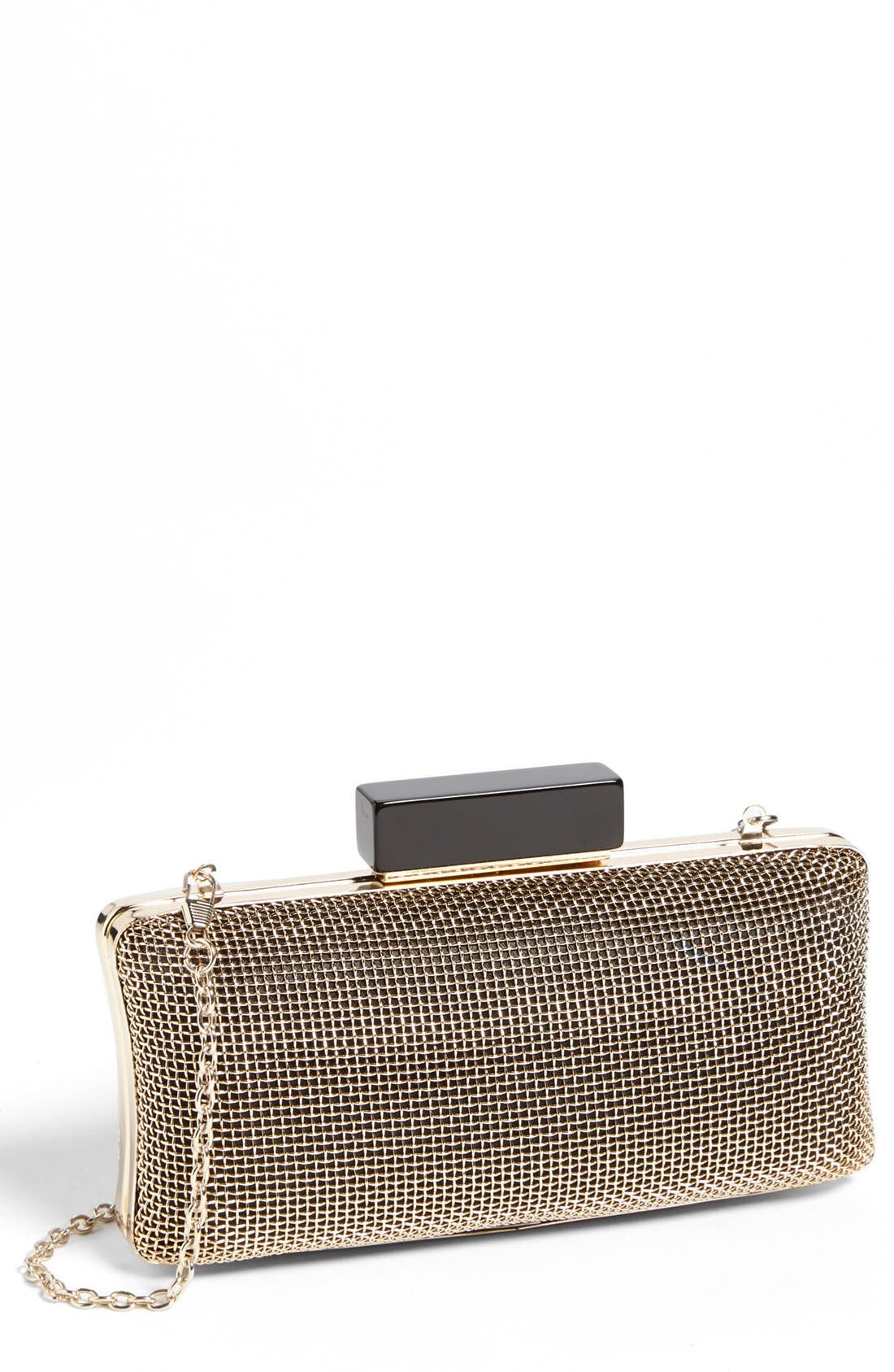 Main Image - La Regale 'Cage' Box Clutch