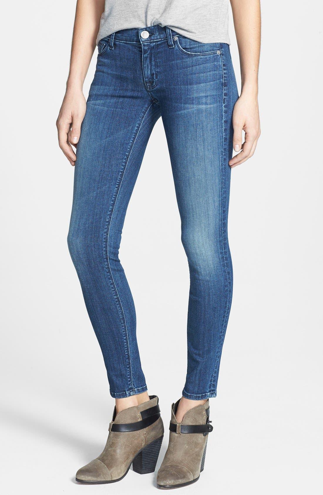 Alternate Image 1 Selected - Hudson Jeans 'Krista' Super Skinny Jeans (Supervixen)