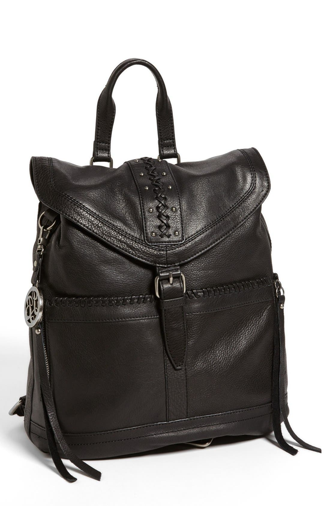 Alternate Image 1 Selected - Lucky Brand 'Carlyle' Leather Backpack