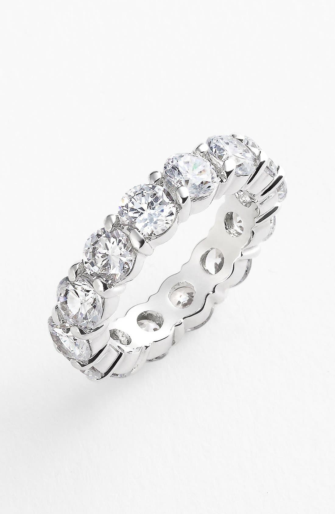 Alternate Image 1 Selected - Ariella Collection Eternity Band Ring