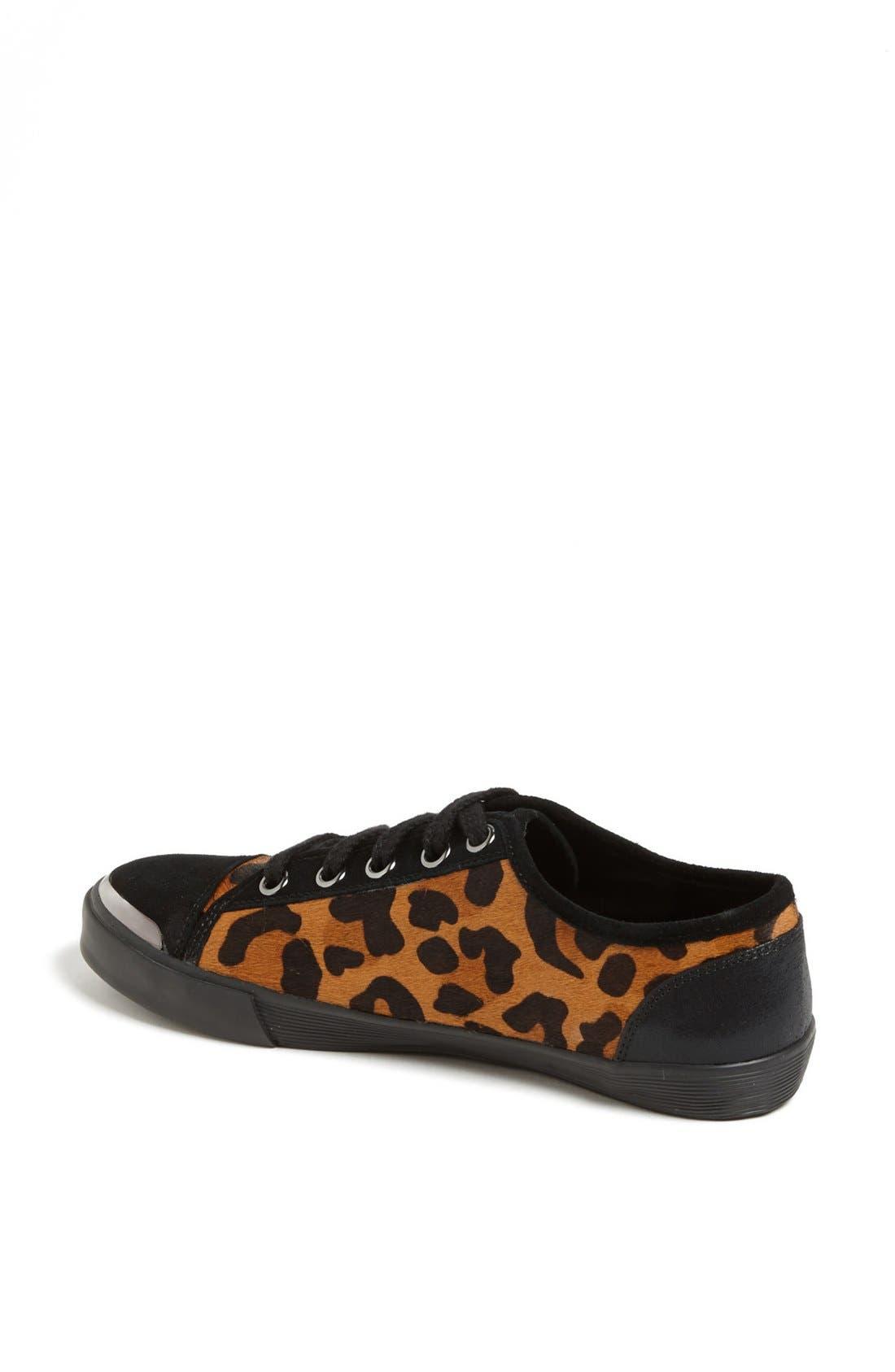 Alternate Image 2  - Nine West 'Deanne' Leopard Print Sneaker