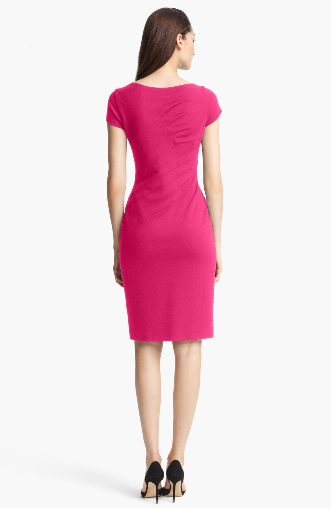 Alternate Image 2  - ESCADA Cap Sleeve Dress