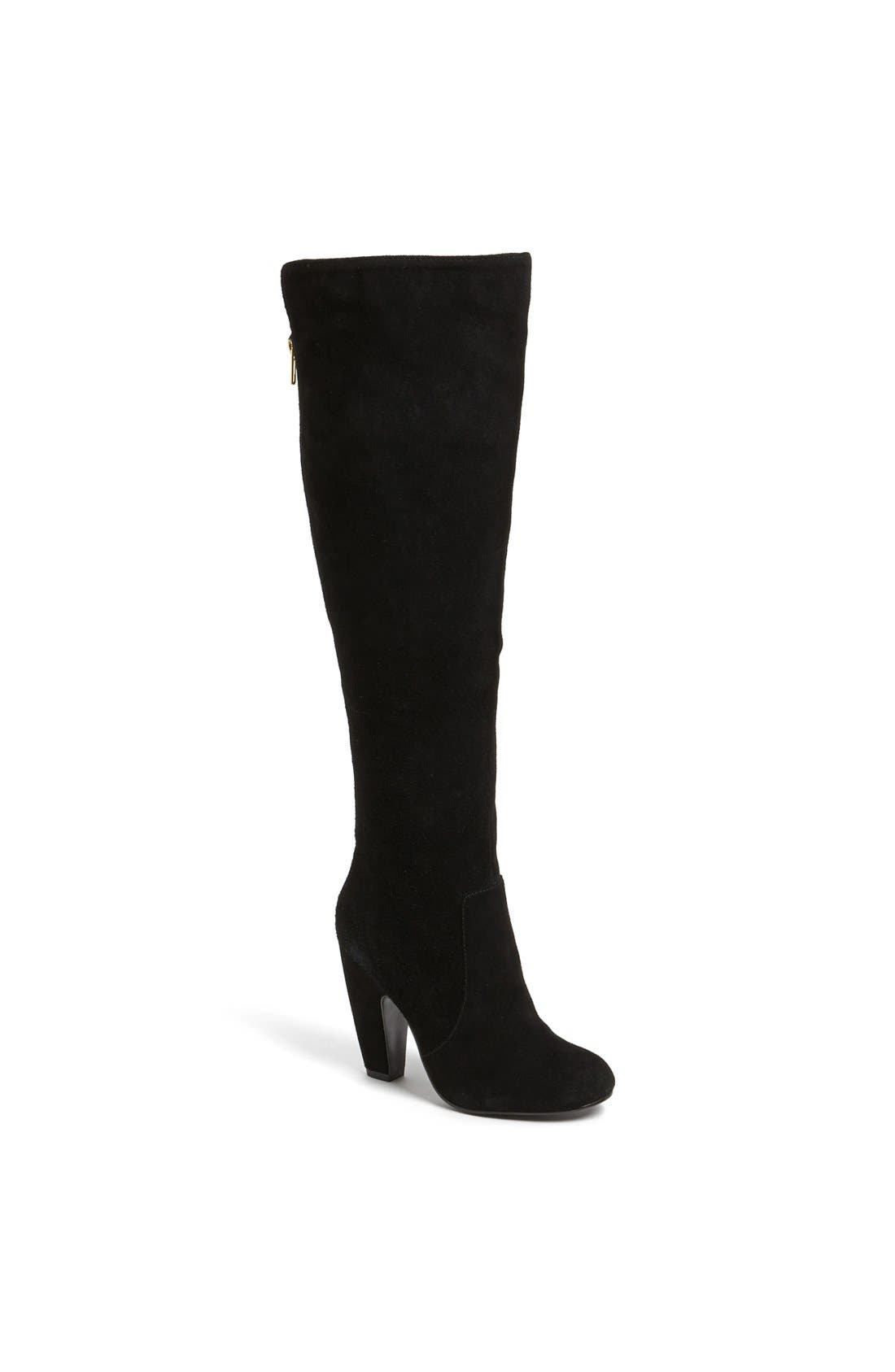 Alternate Image 1 Selected - Steve Madden 'Priscila' Knee High Suede Boot