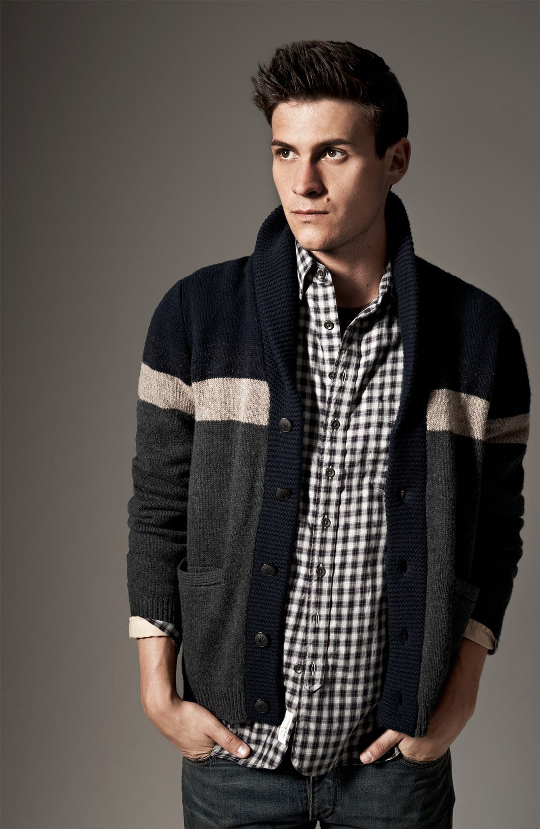 Alternate Image 6  - rag & bone 'Teddy' Shawl Cardigan