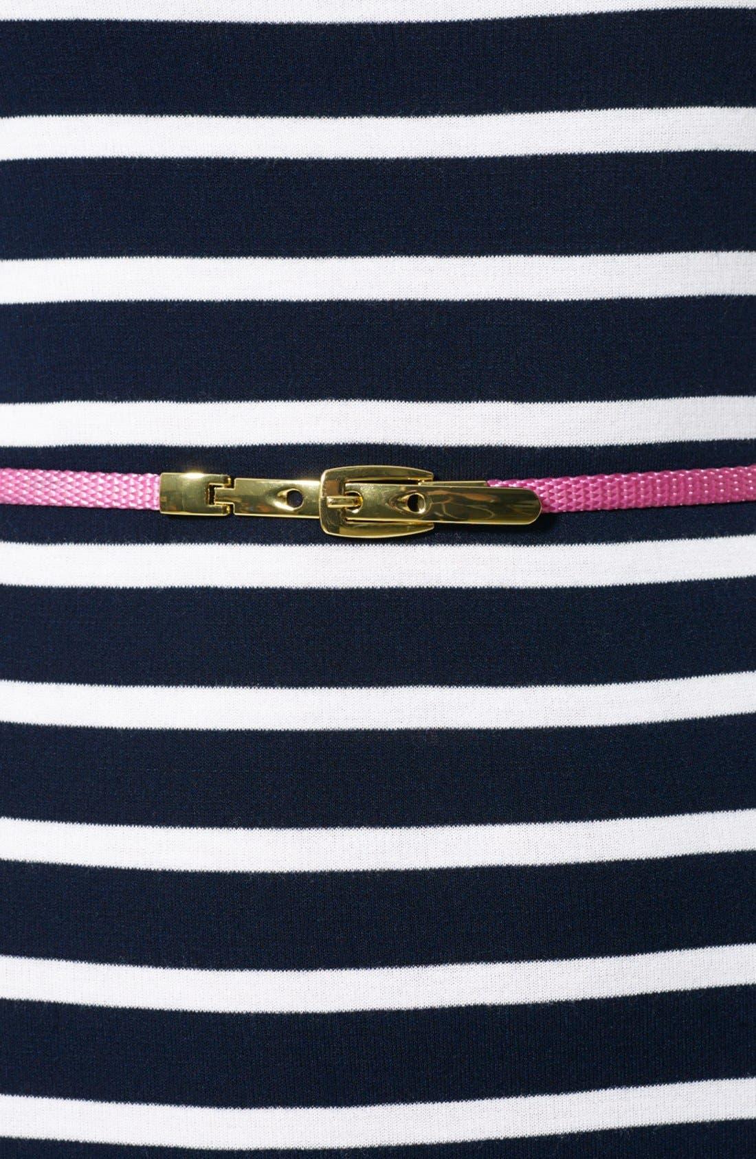 Alternate Image 3  - Lauren Ralph Lauren Stripe Knit Dress (Petite)