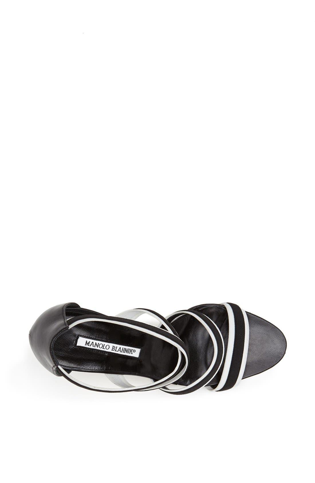 Alternate Image 3  - Manolo Blahnik 'Rigata' Sandal