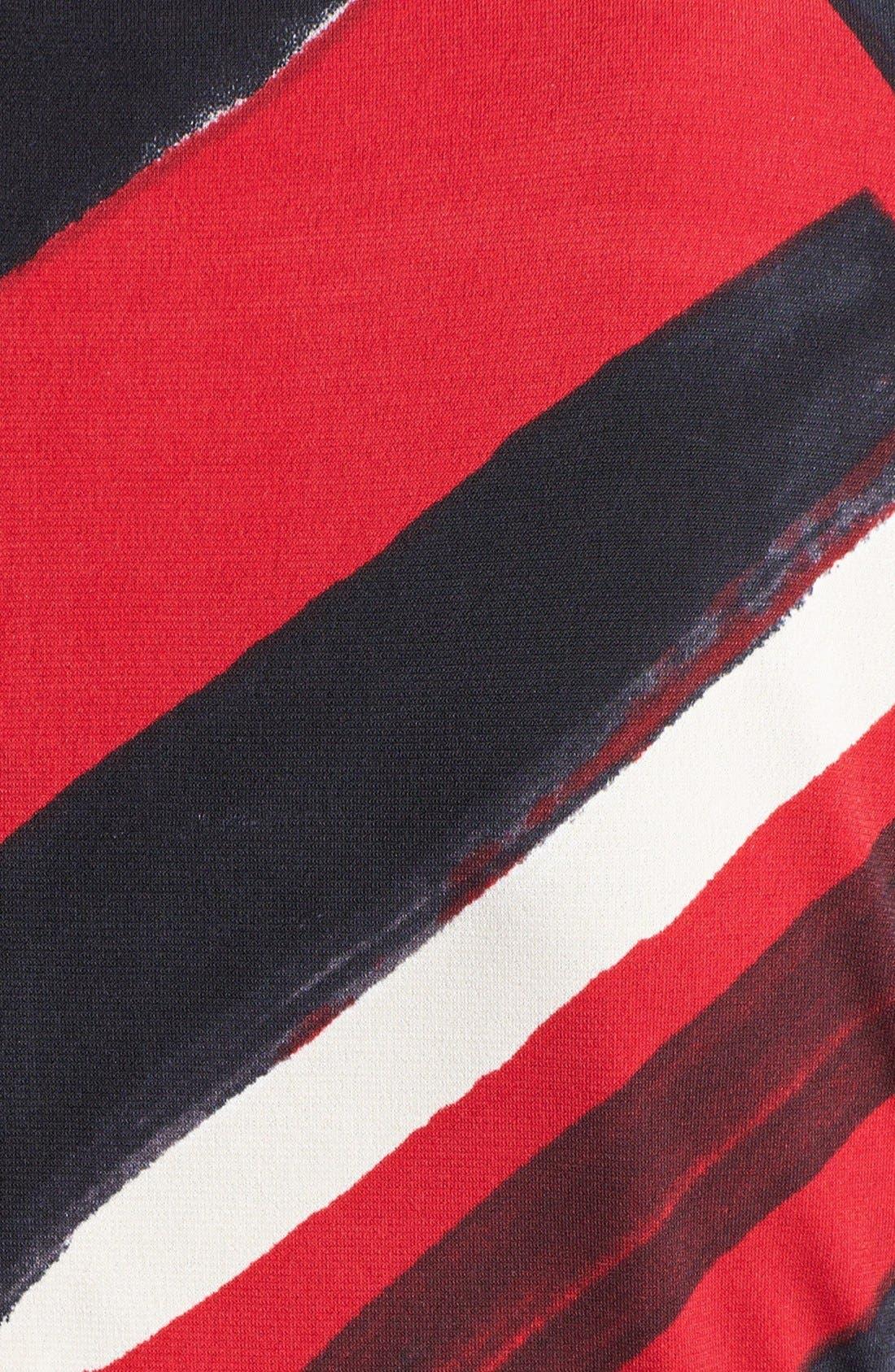 Alternate Image 3  - Ellen Tracy Print Side Tie Jersey Dress (Petite)